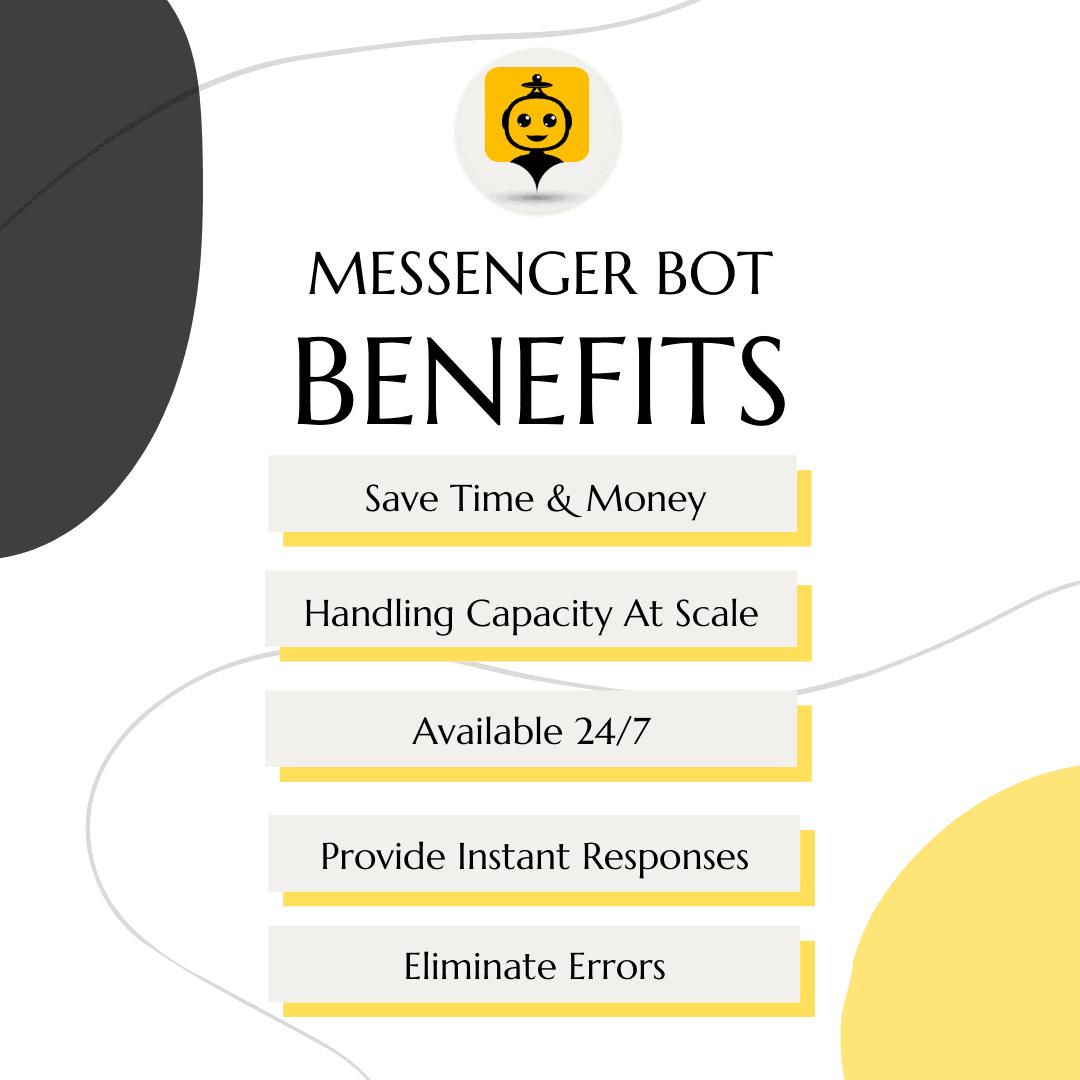 Messenger Bot 5 benefits