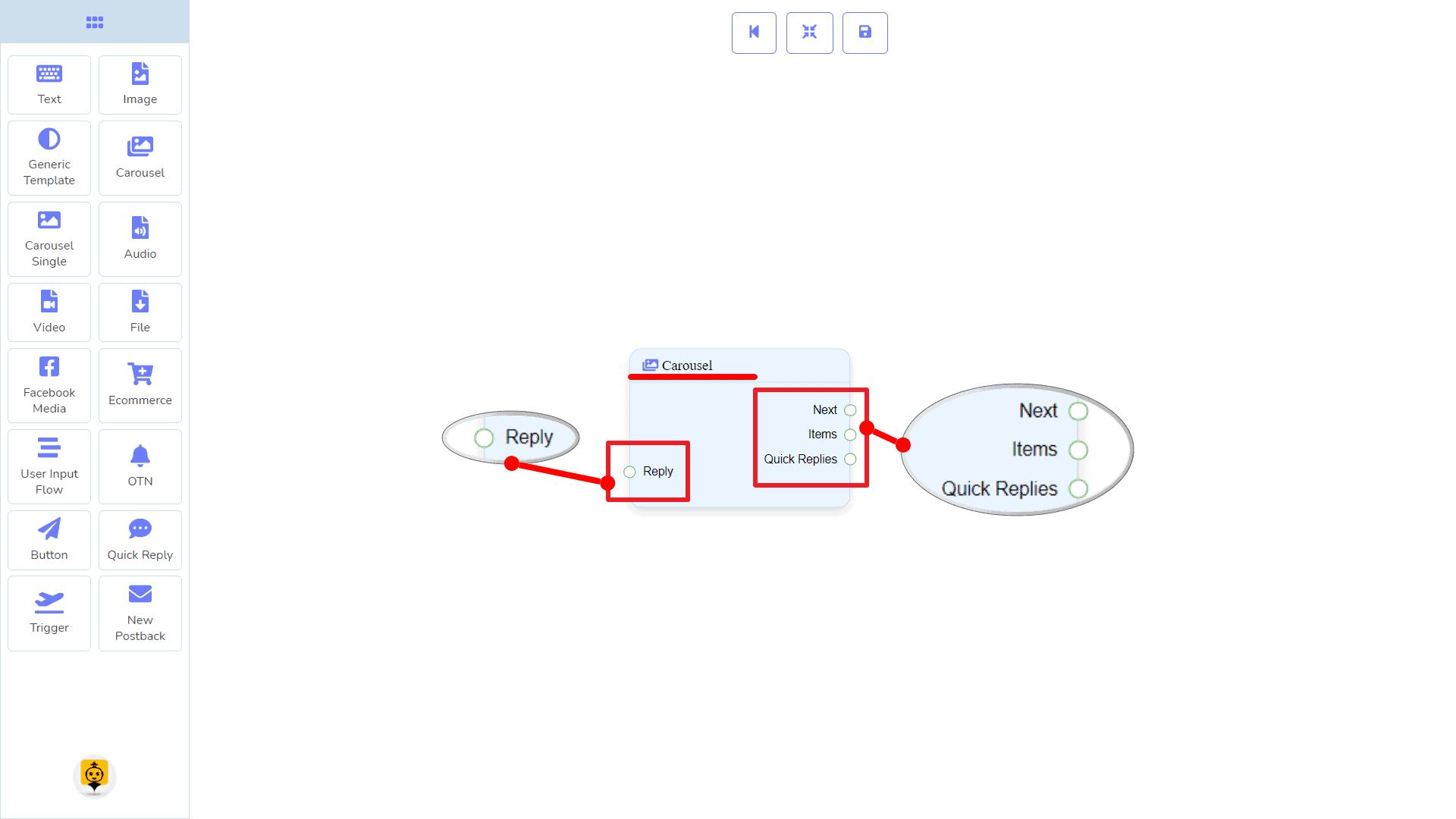 Messenger Bot - Visual Flow Builder 40