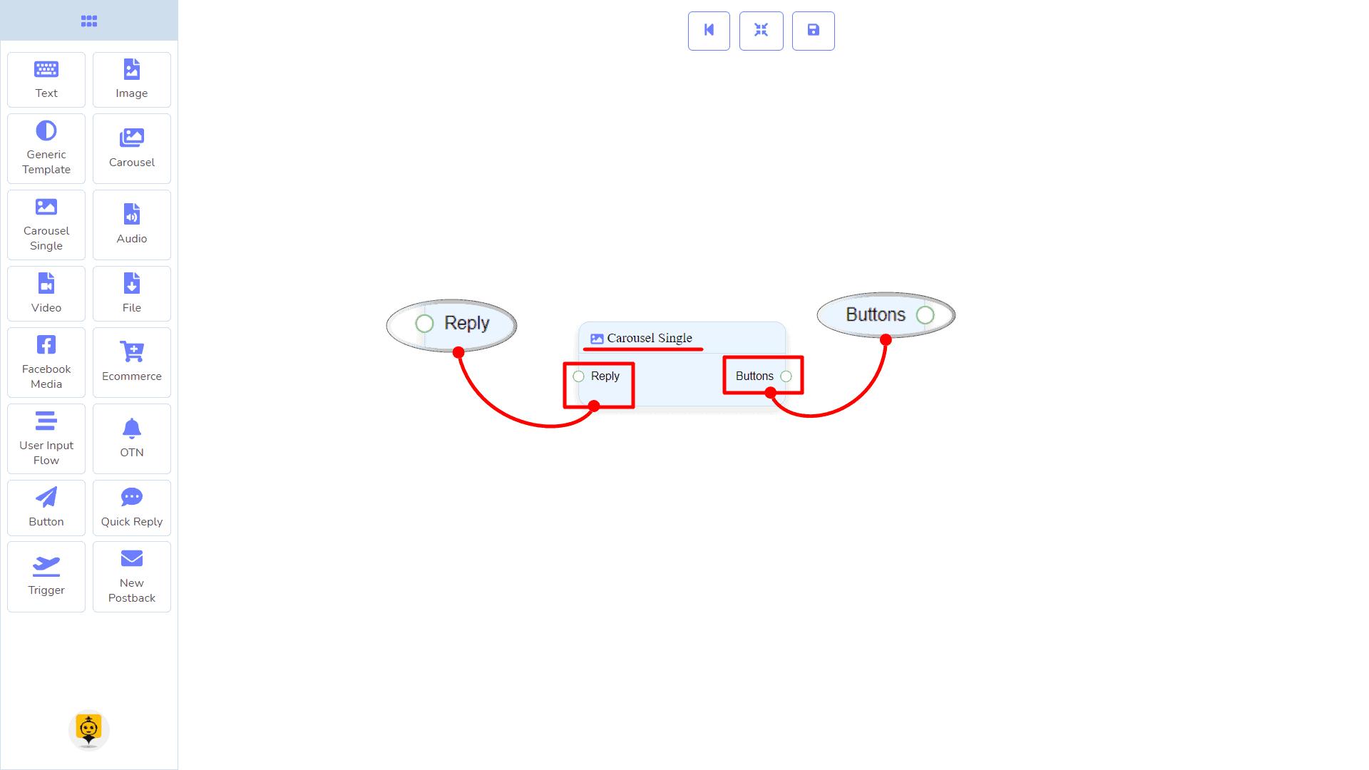 Messenger Bot - Visual Flow Builder 48