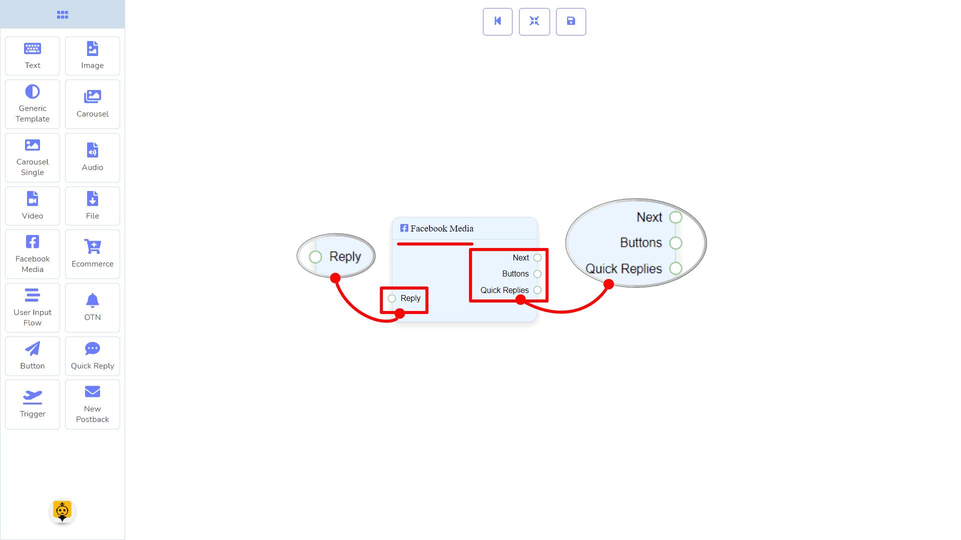 Messenger Bot - Visual Flow Builder 70