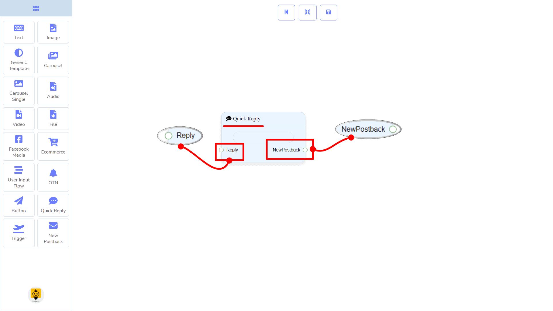 Messenger Bot - Visual Flow Builder 95
