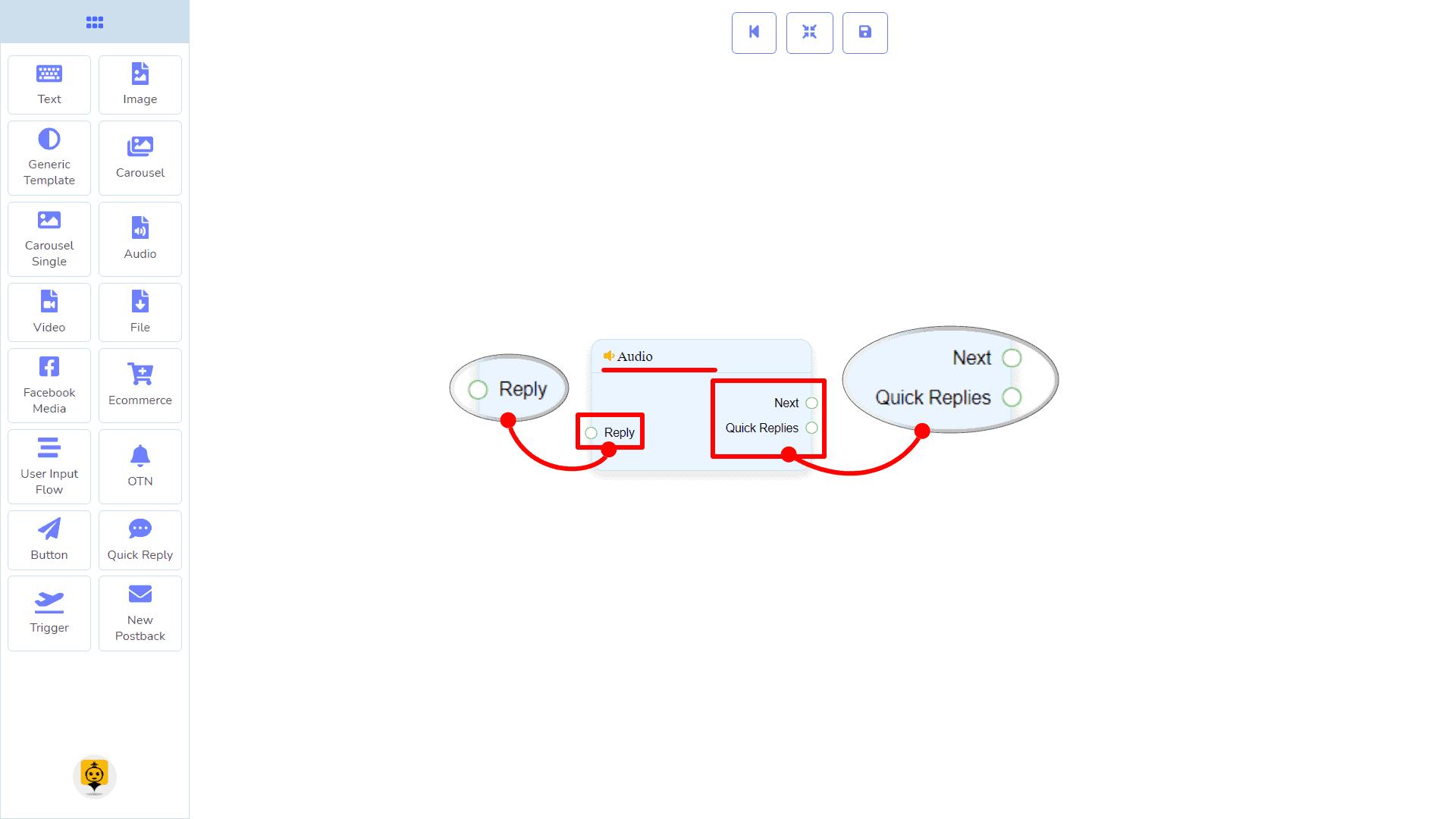 Messenger Bot - Visual Flow Builder 52