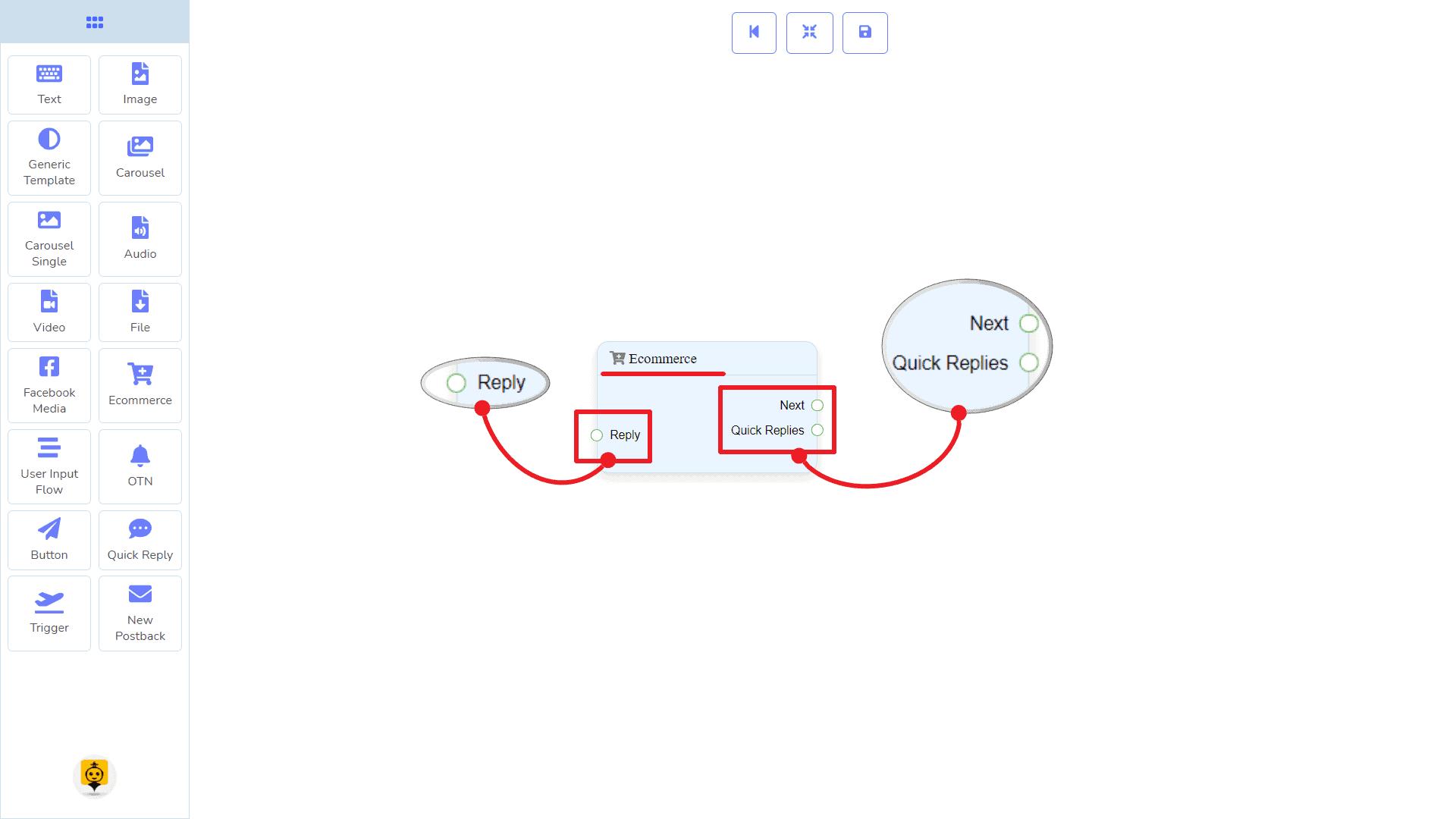 Messenger Bot - Visual Flow Builder 77