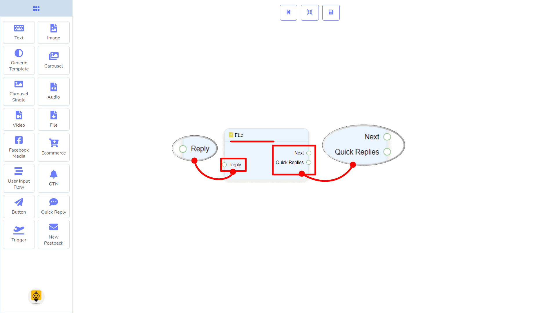 Messenger Bot - Visual Flow Builder 64
