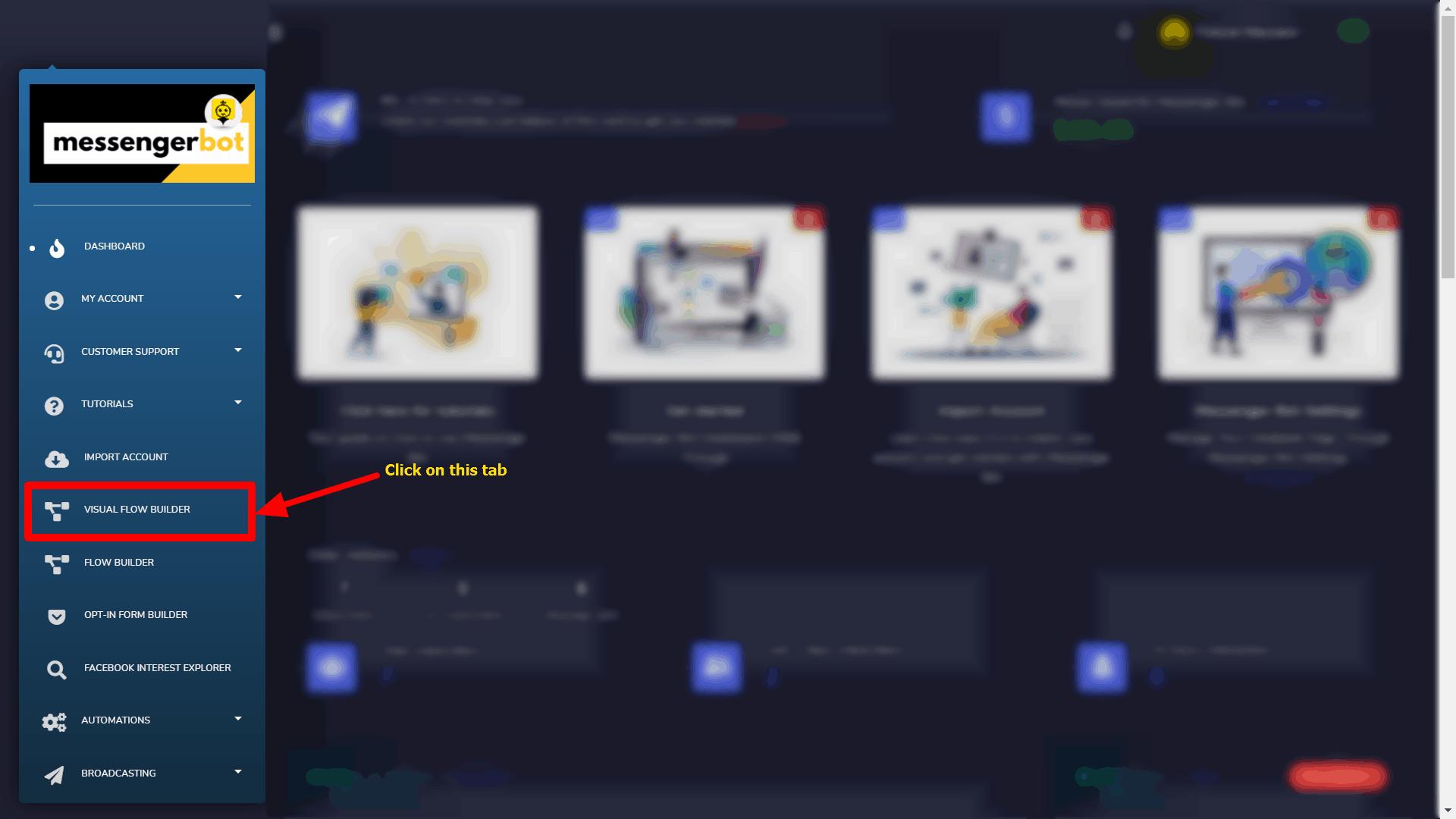 Messenger Bot - Visual Flow Builder 1