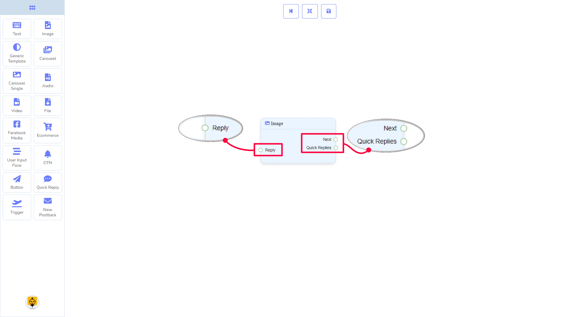 Messenger Bot - Visual Flow Builder 24
