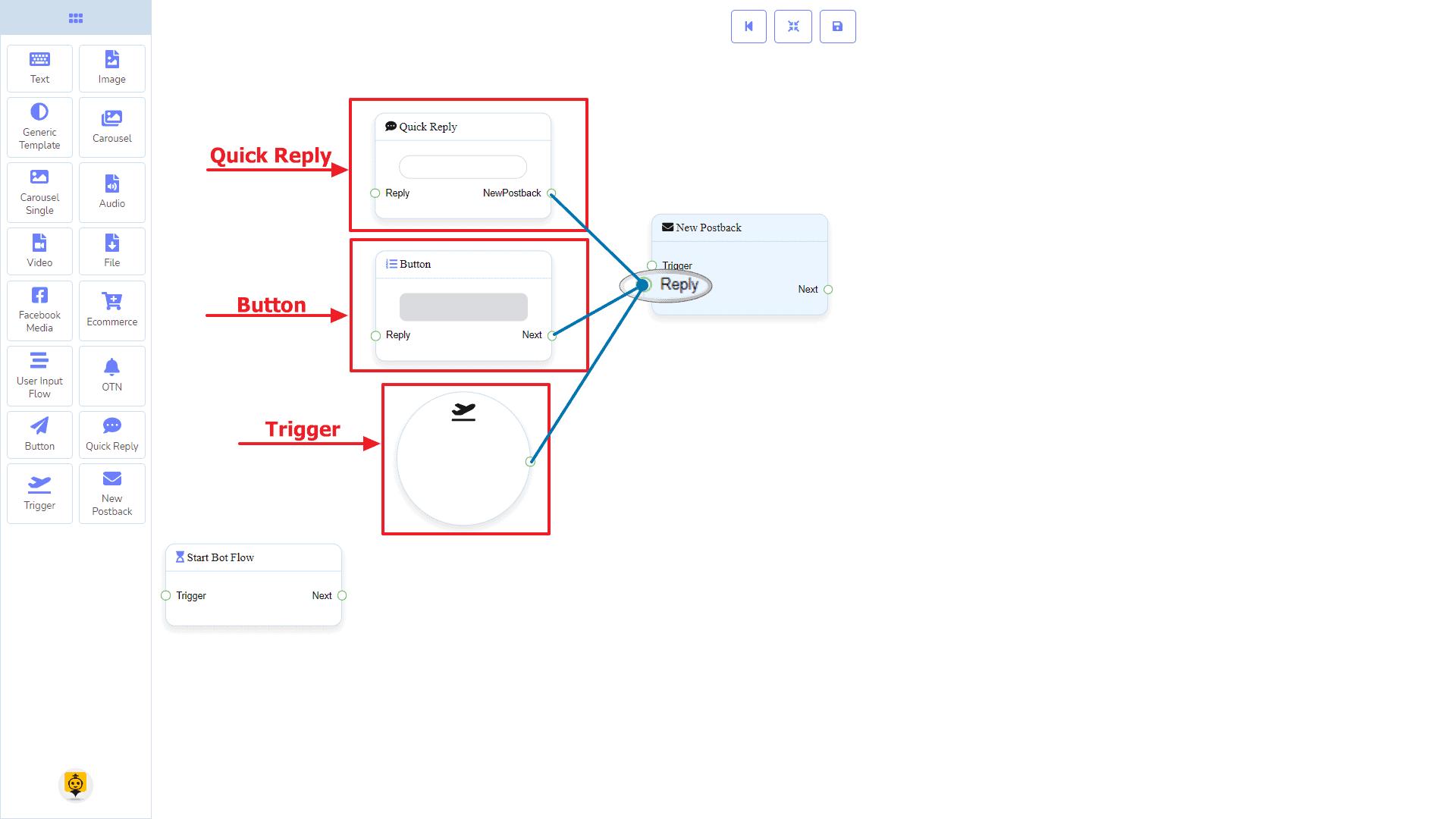 Messenger Bot - Visual Flow Builder 12
