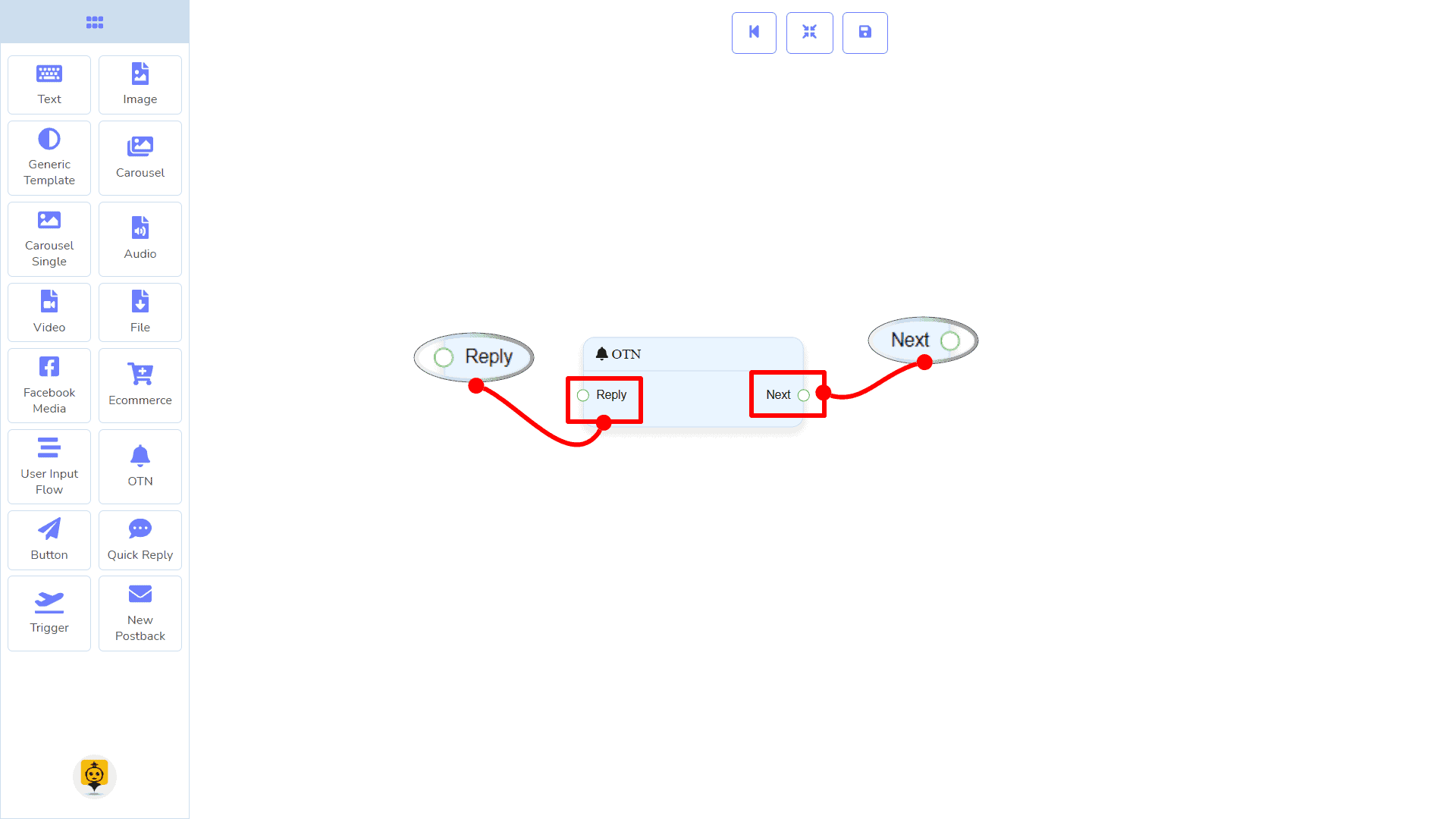 Messenger Bot - Visual Flow Builder 86