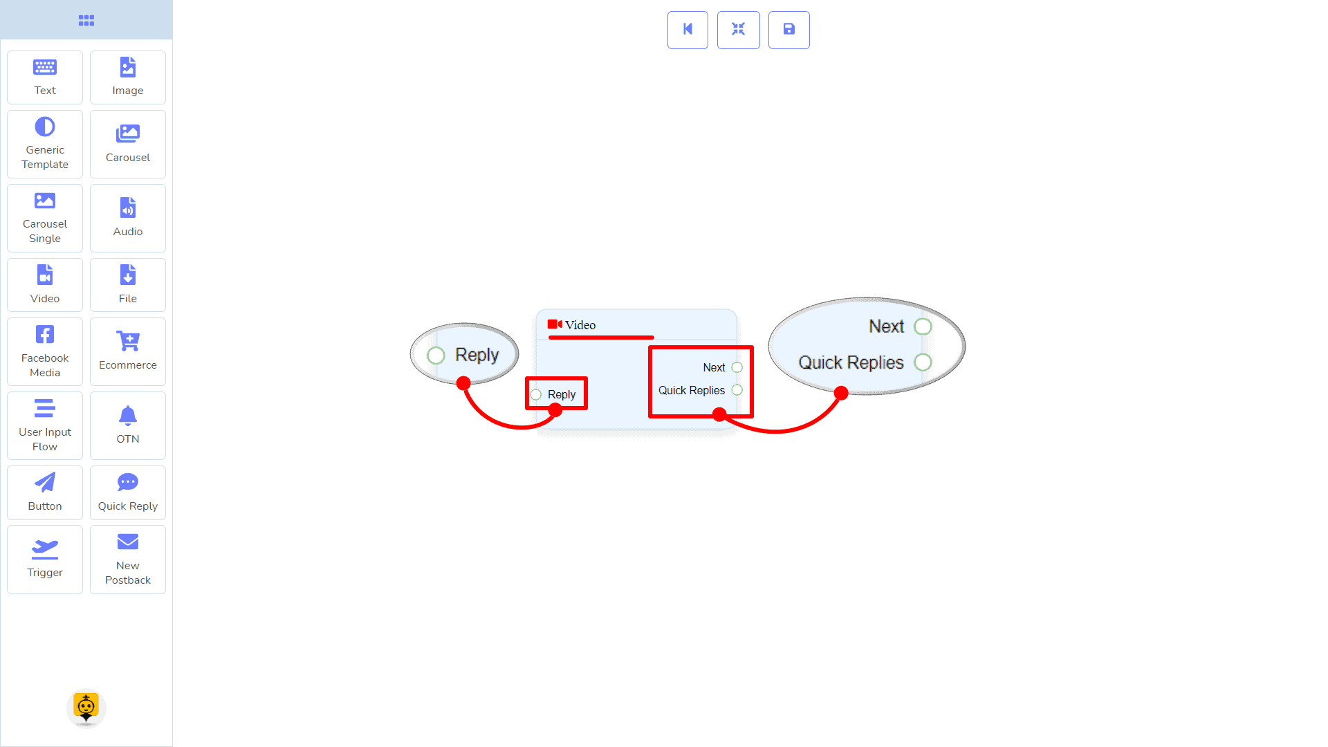 Messenger Bot - Visual Flow Builder 58