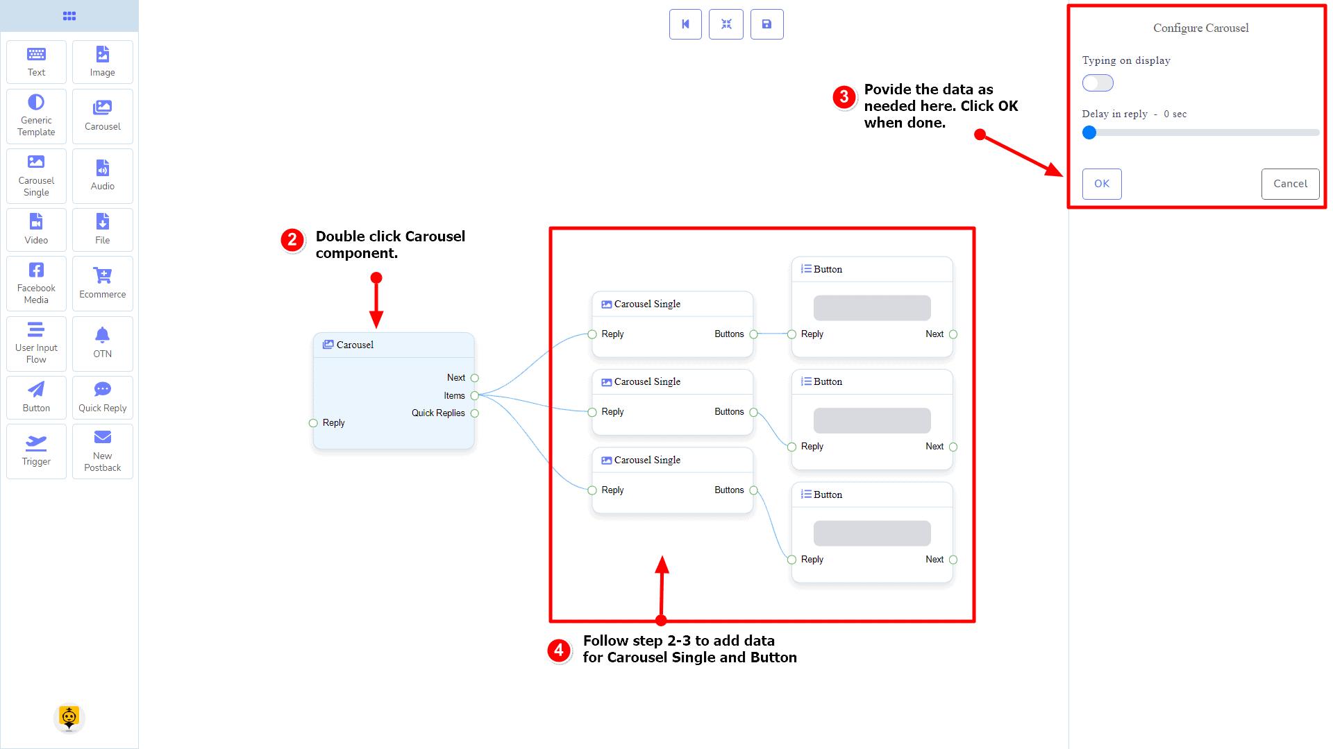 Messenger Bot - Visual Flow Builder 47