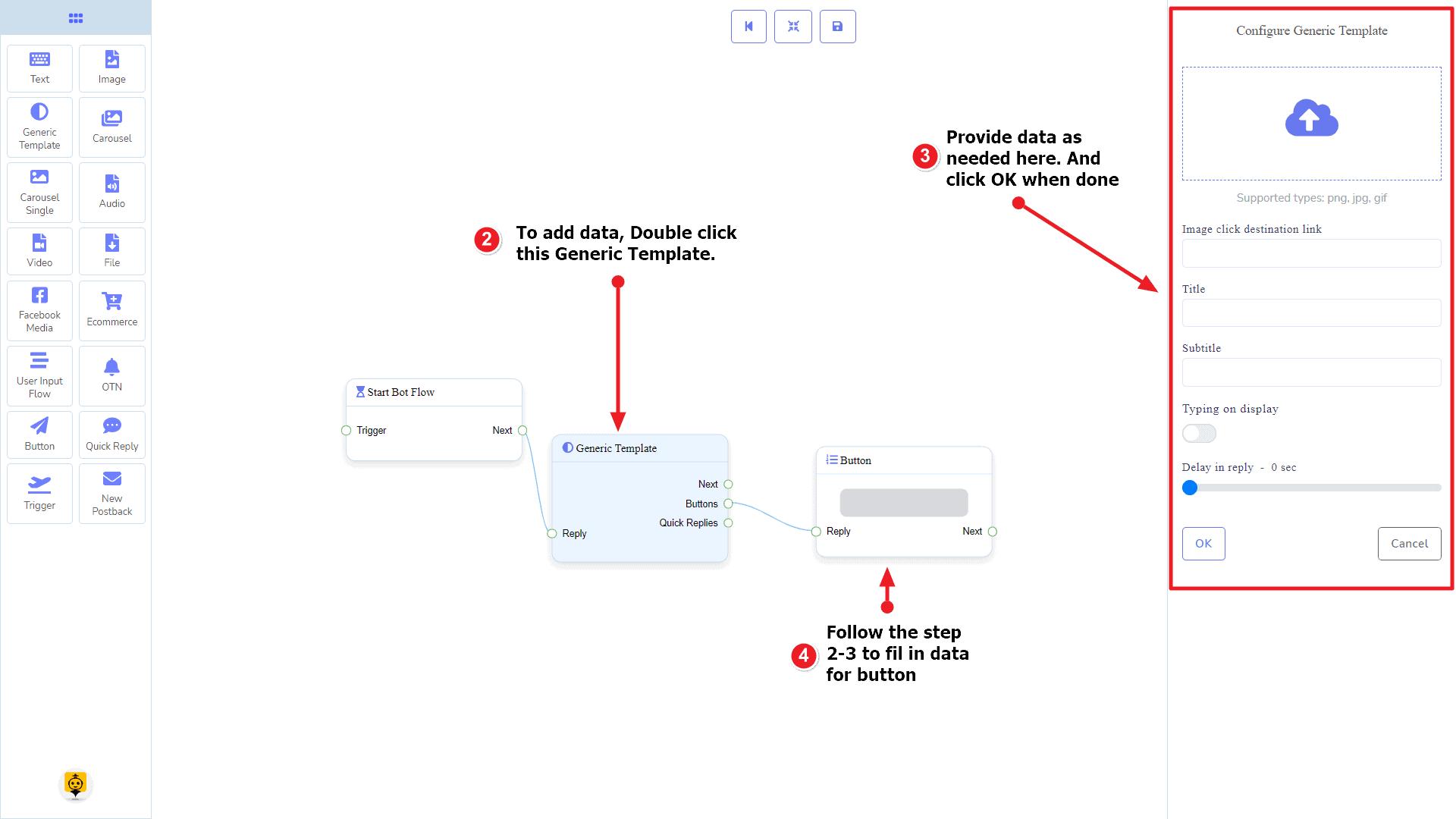 Messenger Bot - Visual Flow Builder 39