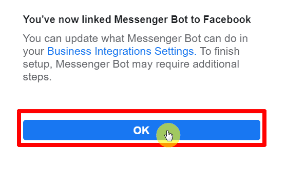 How To Connect Messenger Bot To Facebook Page 7