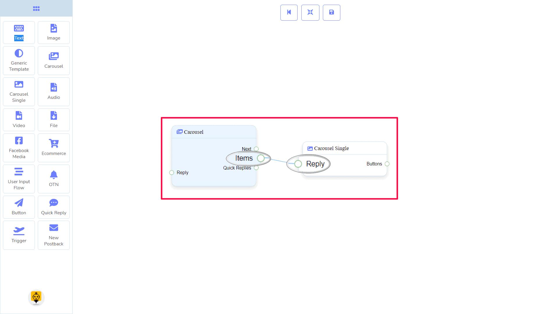 Messenger Bot - Visual Flow Builder 49