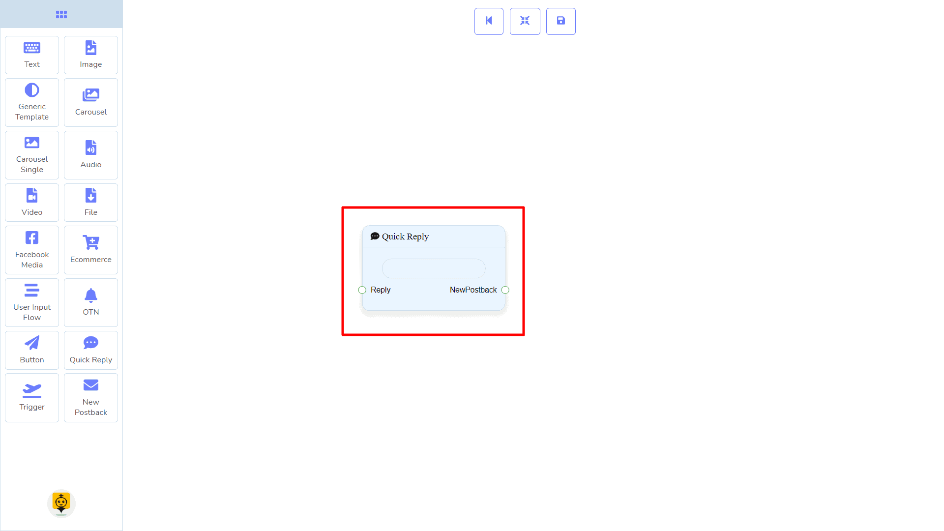 Messenger Bot - Visual Flow Builder 96