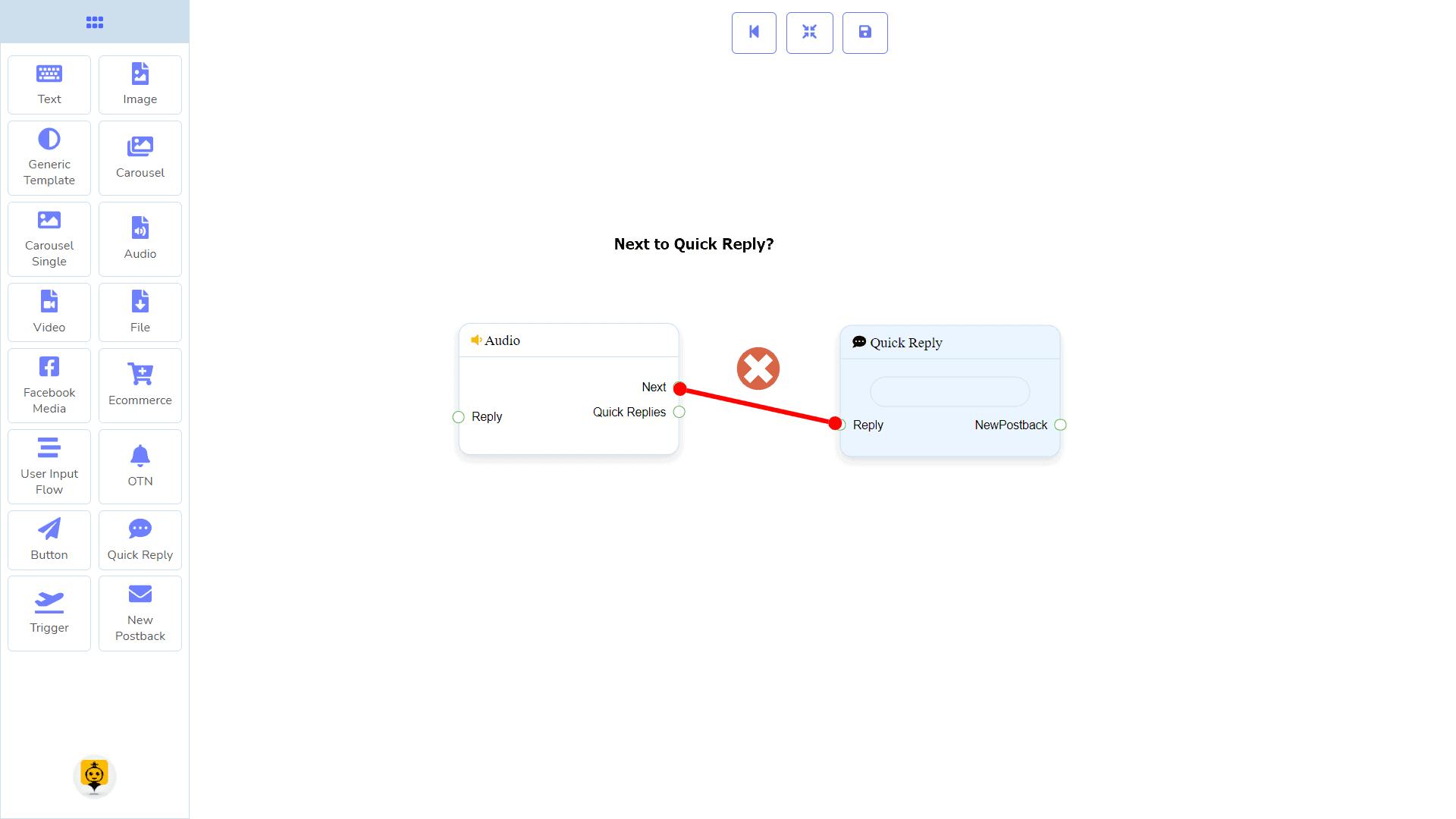 Messenger Bot - Visual Flow Builder 53