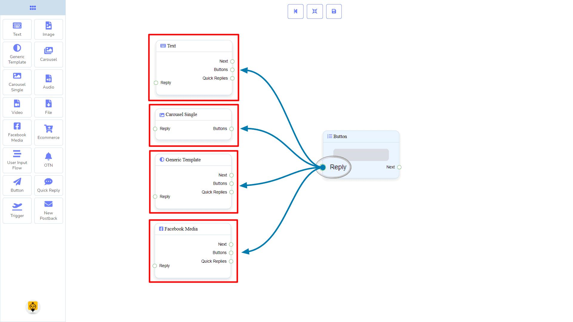 Messenger Bot - Visual Flow Builder 92
