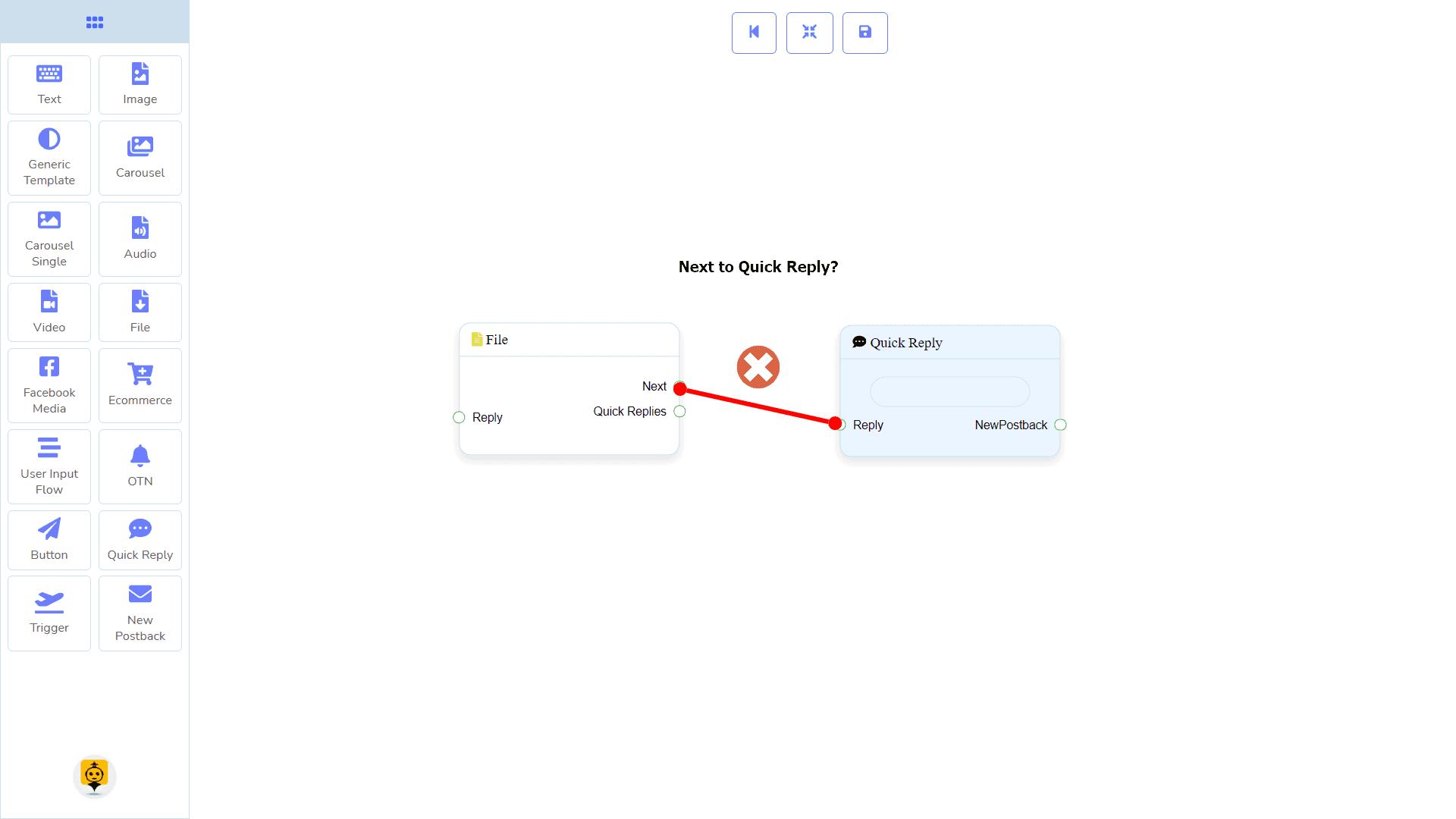Messenger Bot - Visual Flow Builder 65