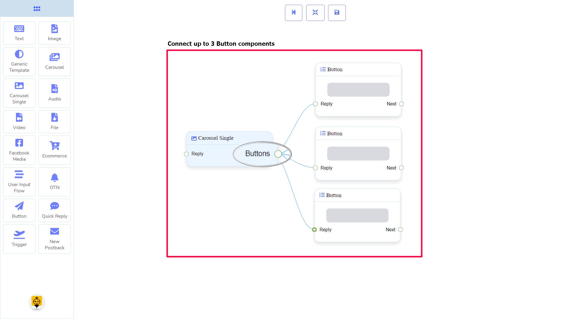 Messenger Bot - Visual Flow Builder 50