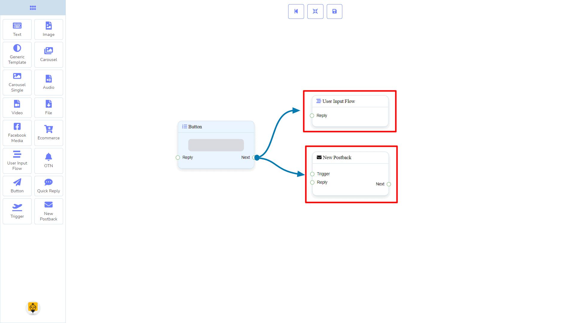 Messenger Bot - Visual Flow Builder 93