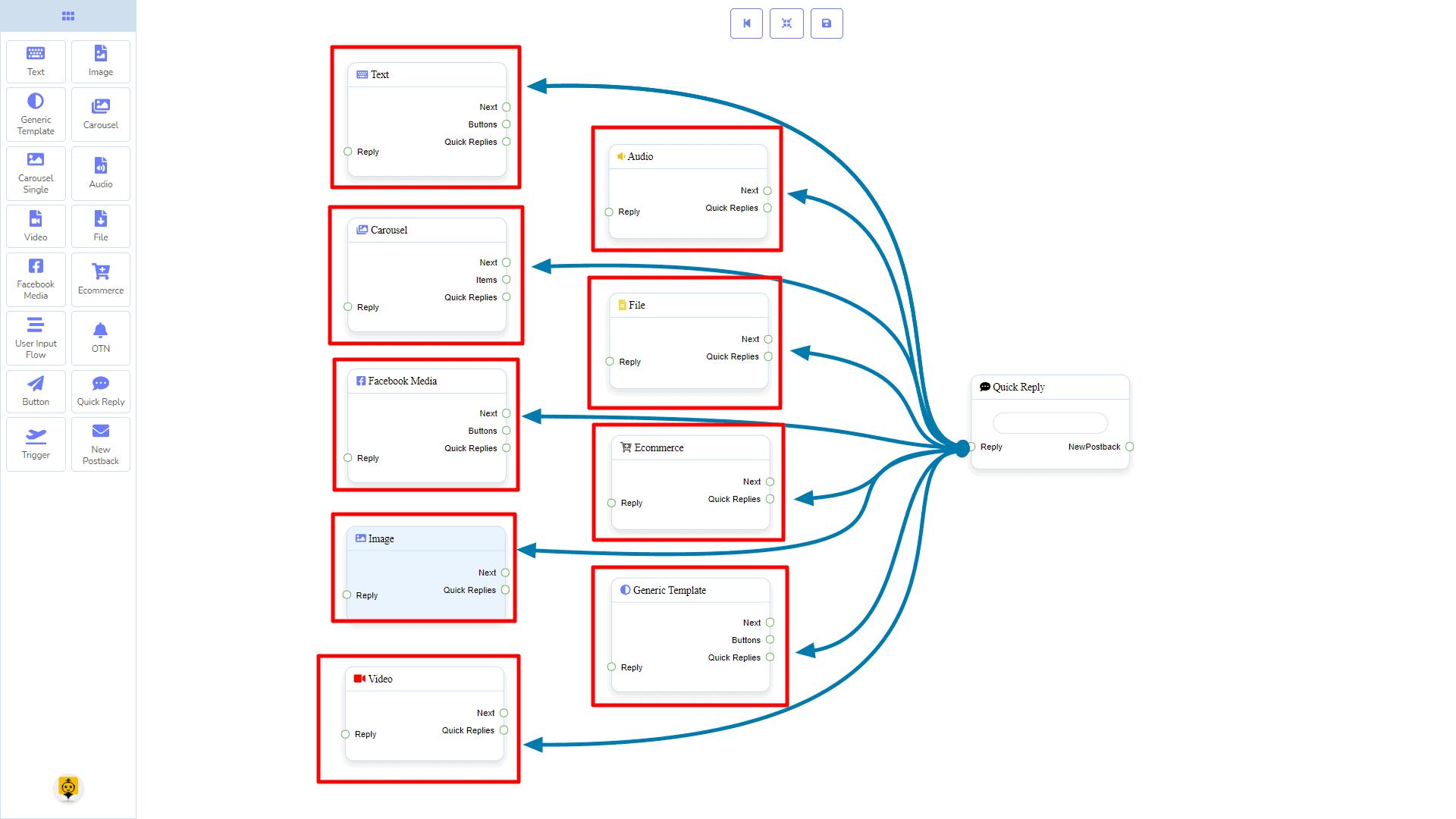 Messenger Bot - Visual Flow Builder 97
