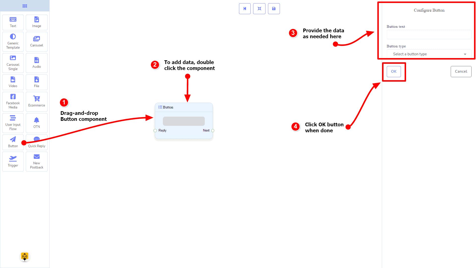 Messenger Bot - Visual Flow Builder 94