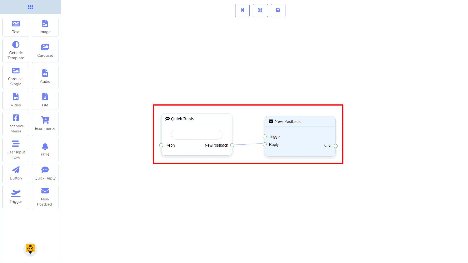Messenger Bot - Visual Flow Builder 98