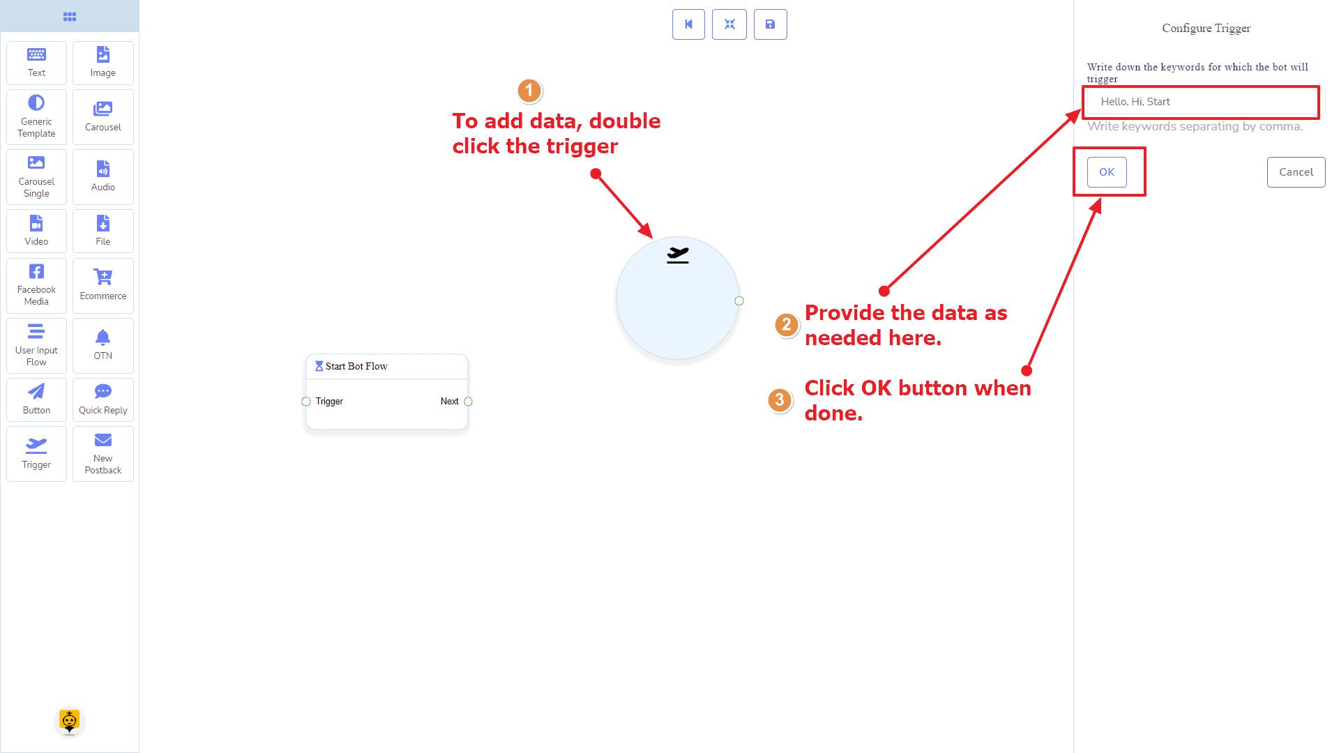 Messenger Bot - Visual Flow Builder 10
