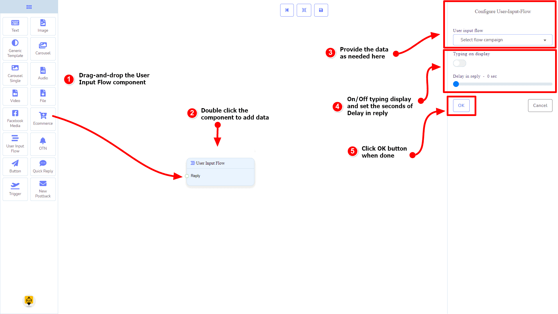 Messenger Bot - Visual Flow Builder 85