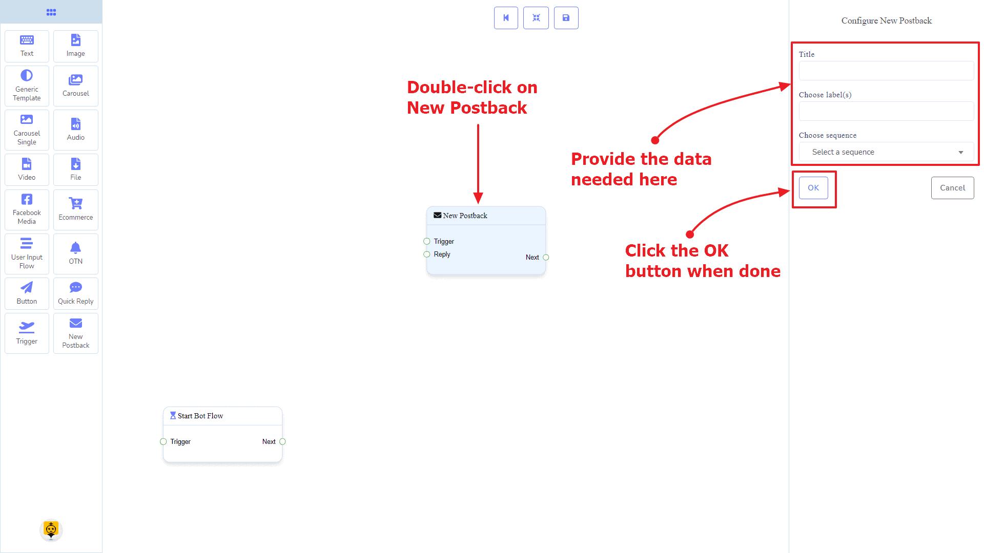 Messenger Bot - Visual Flow Builder 15