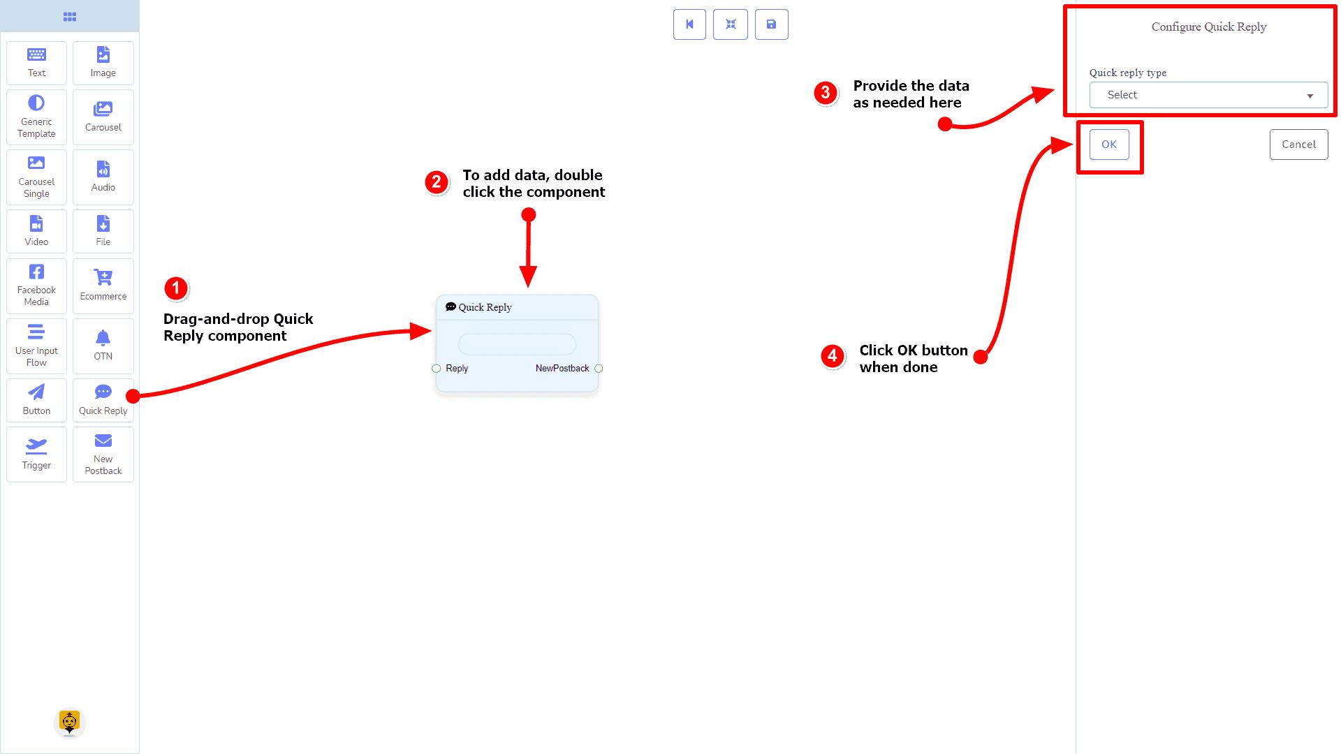 Messenger Bot - Visual Flow Builder 99