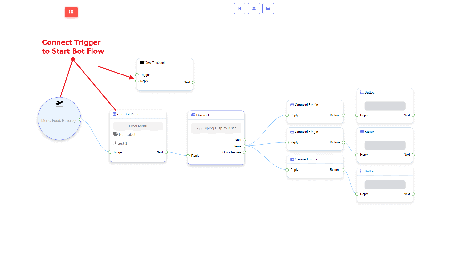 Messenger Bot - Visual Flow Builder 11