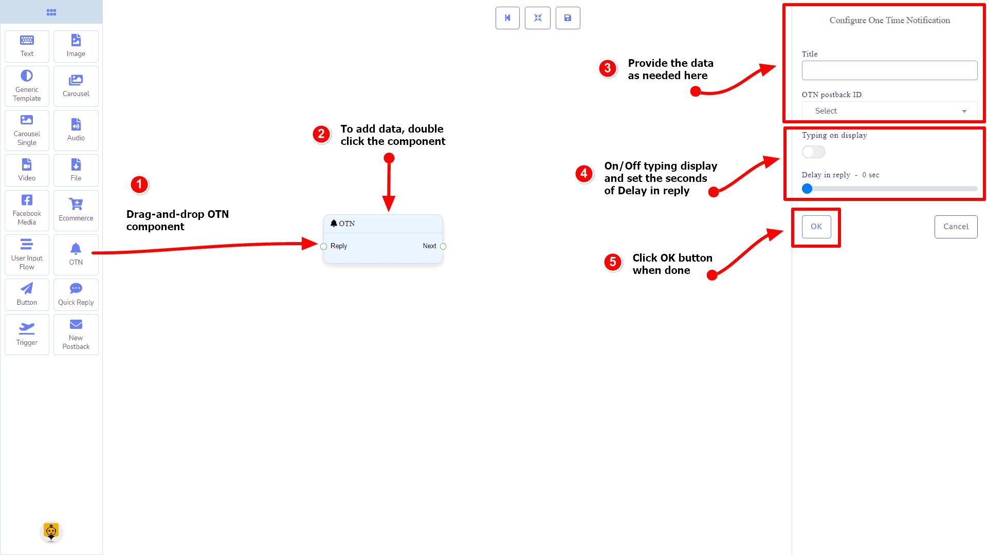 Messenger Bot - Visual Flow Builder 89
