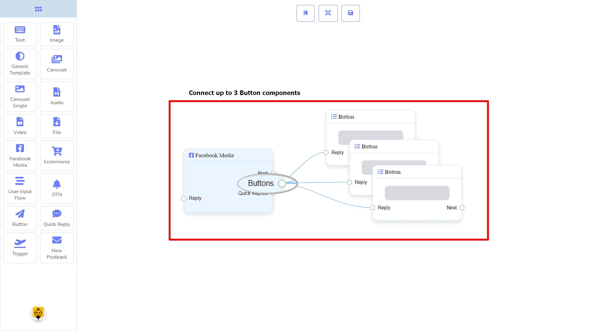Messenger Bot - Visual Flow Builder 74