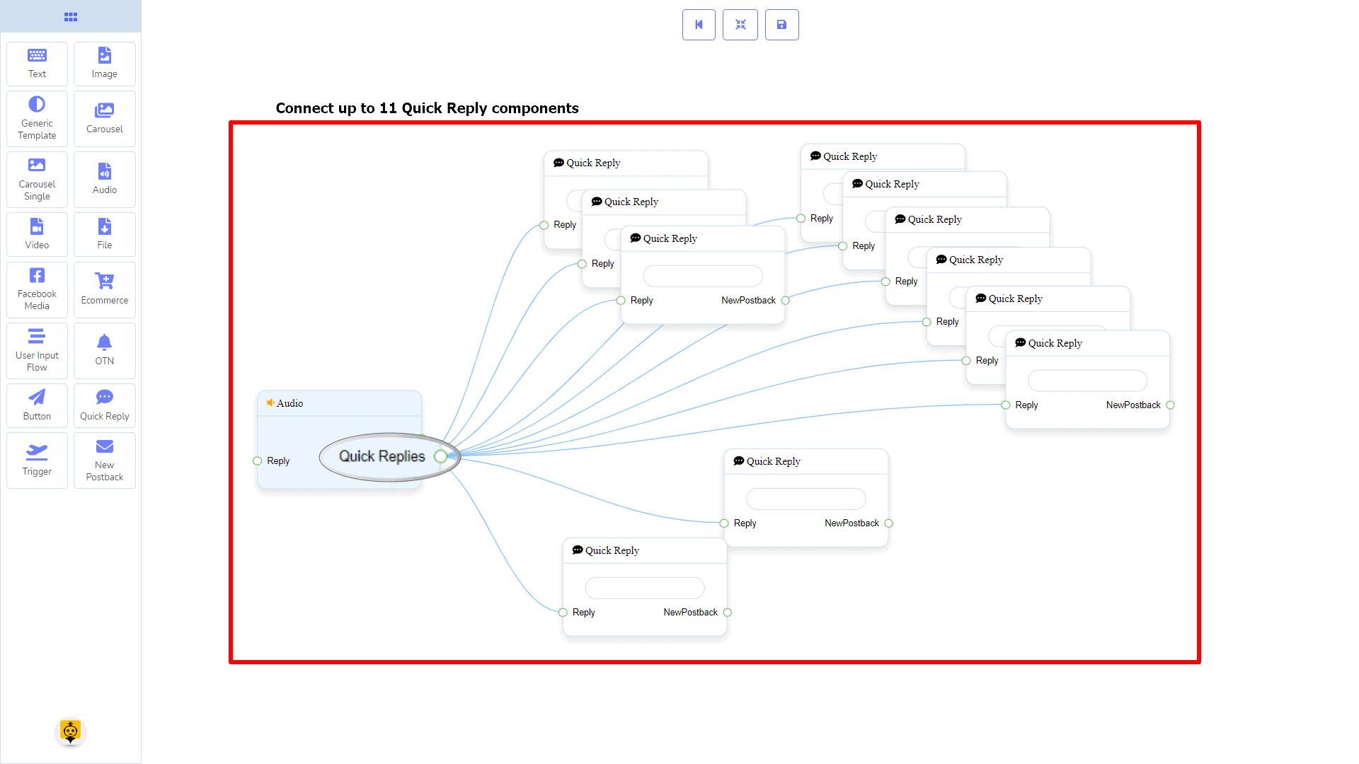 Messenger Bot - Visual Flow Builder 56