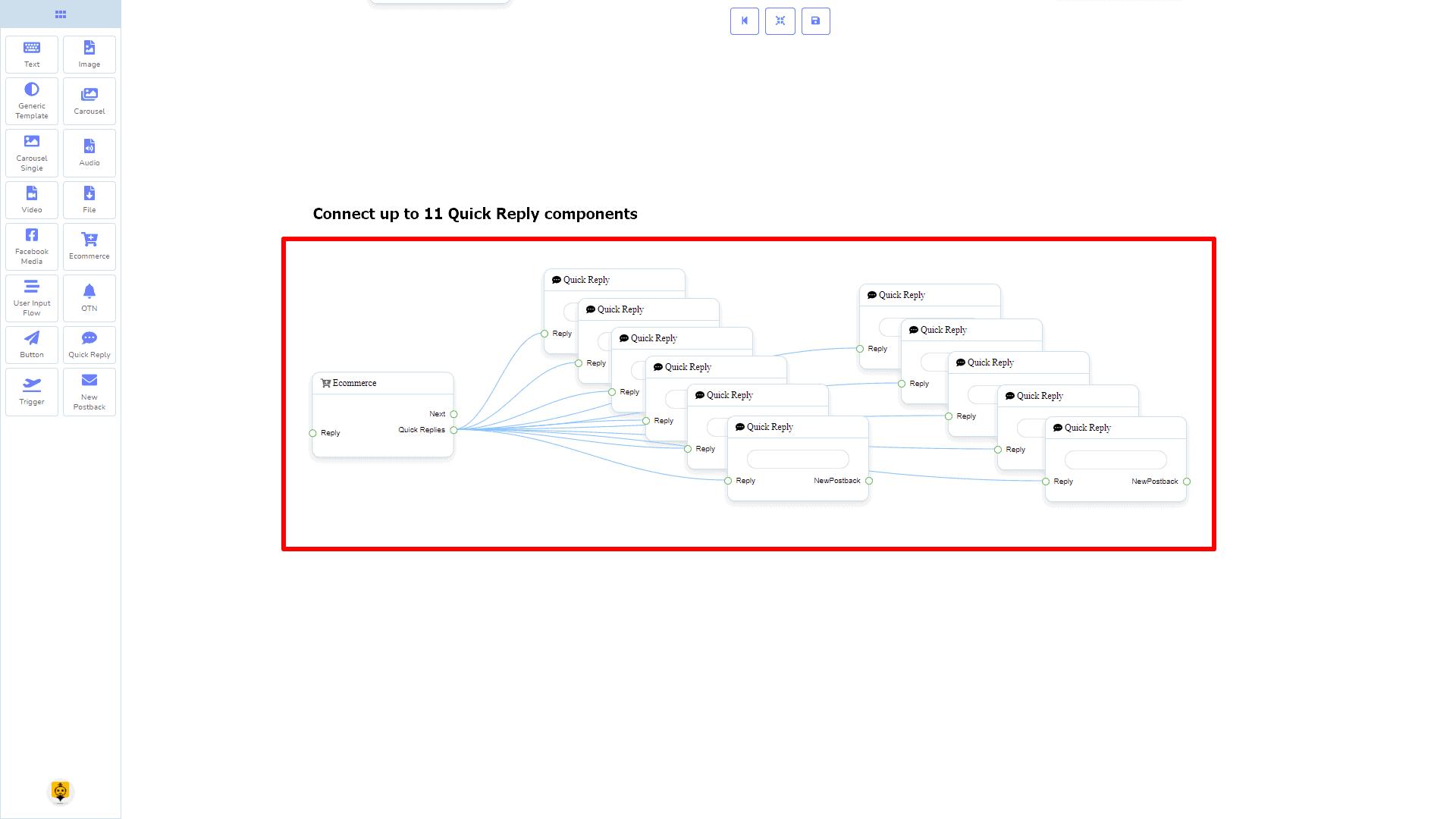Messenger Bot - Visual Flow Builder 81