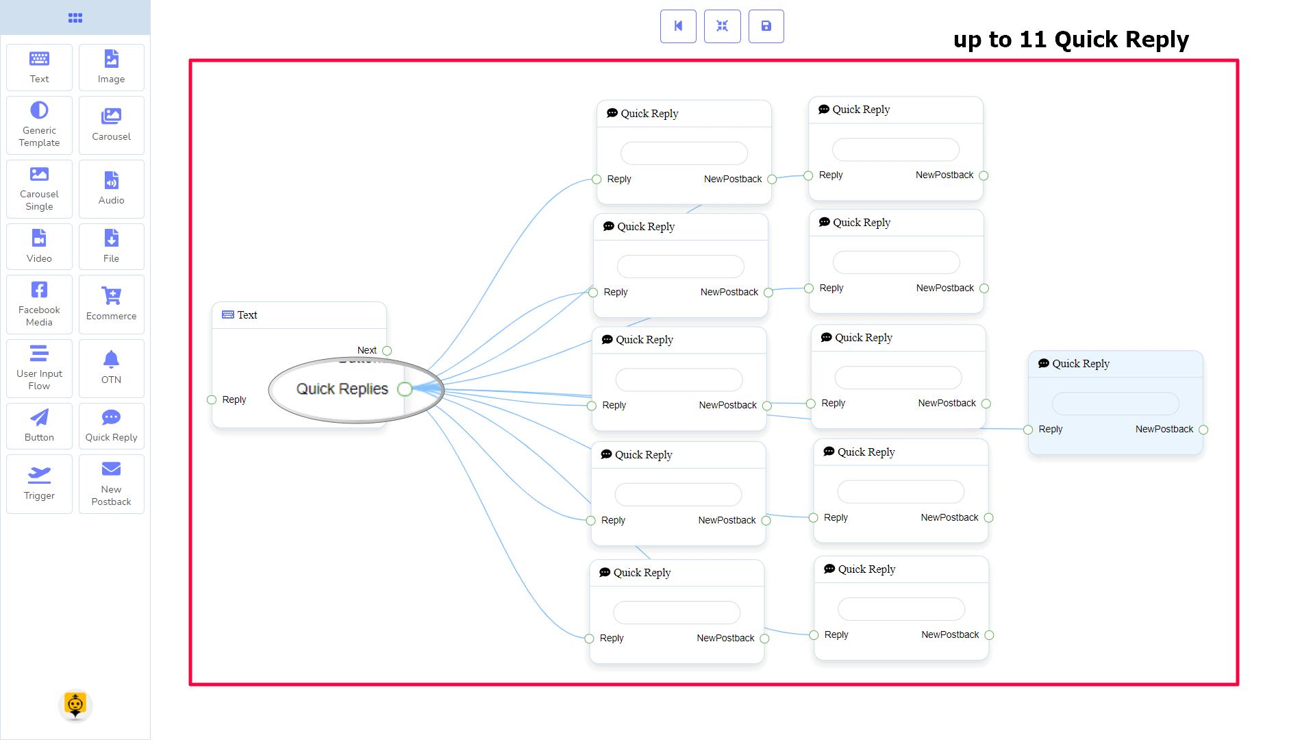 Messenger Bot - Visual Flow Builder 20