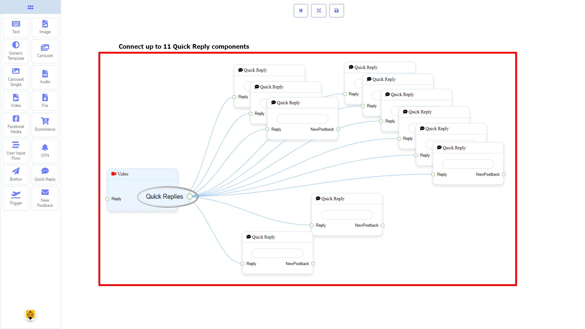 Messenger Bot - Visual Flow Builder 62