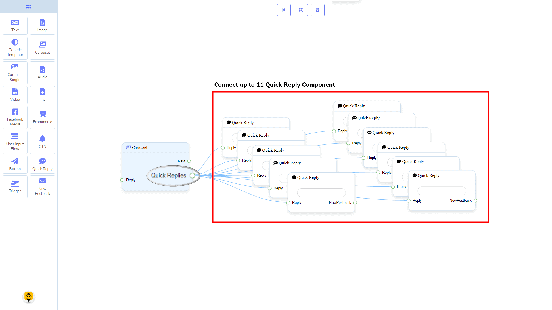 Messenger Bot - Visual Flow Builder 45