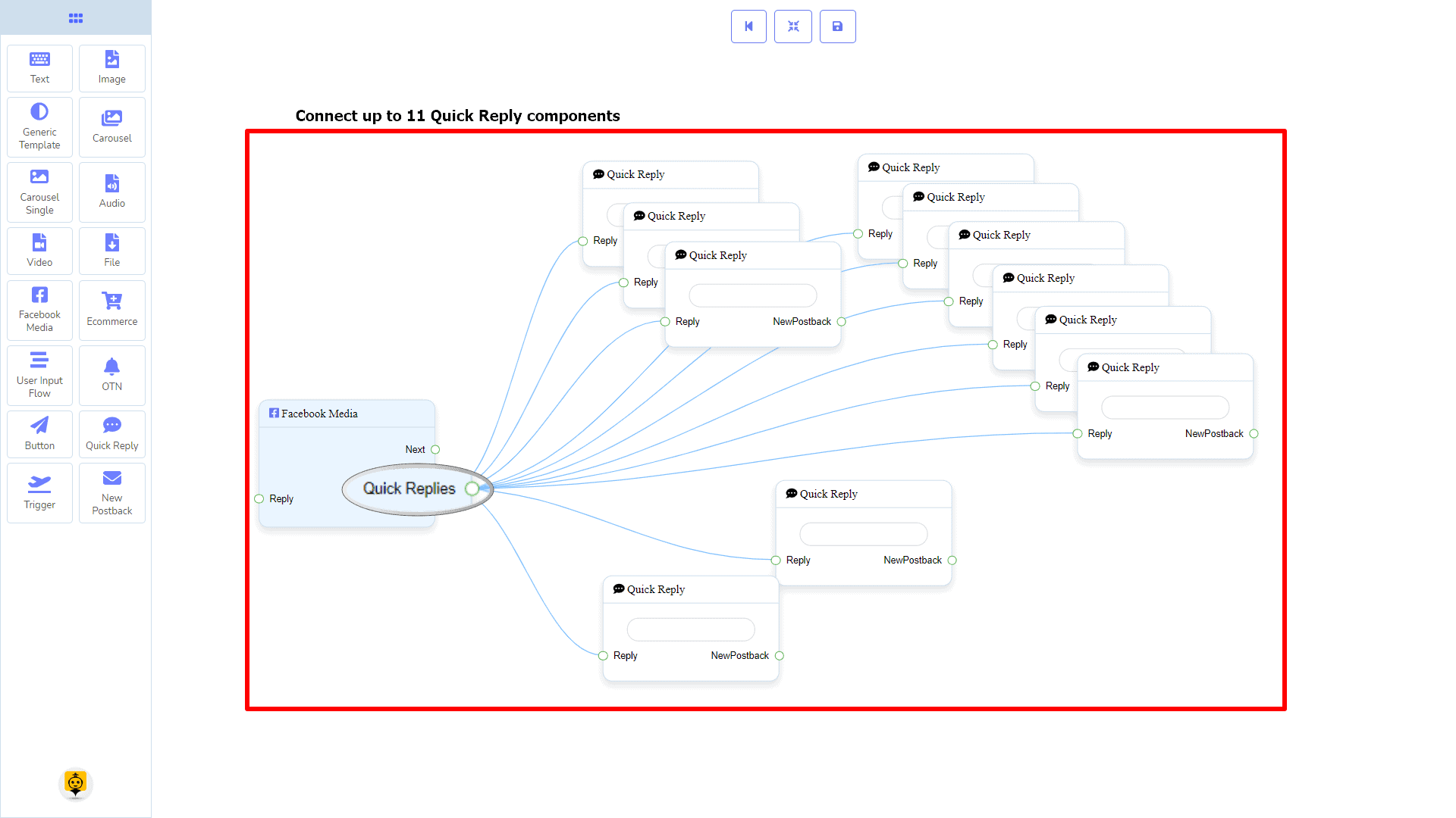 Messenger Bot - Visual Flow Builder 75