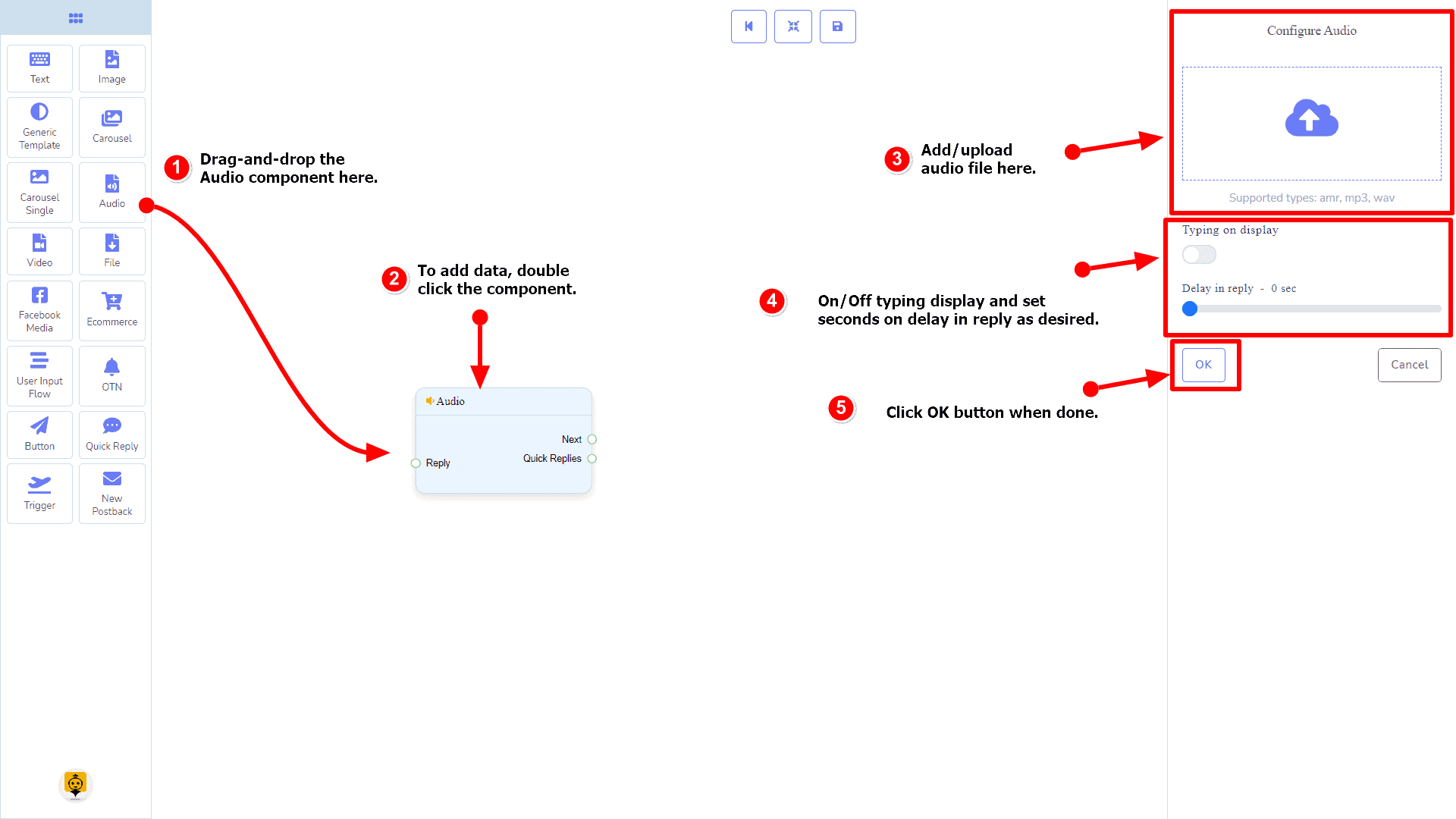 Messenger Bot - Visual Flow Builder 57