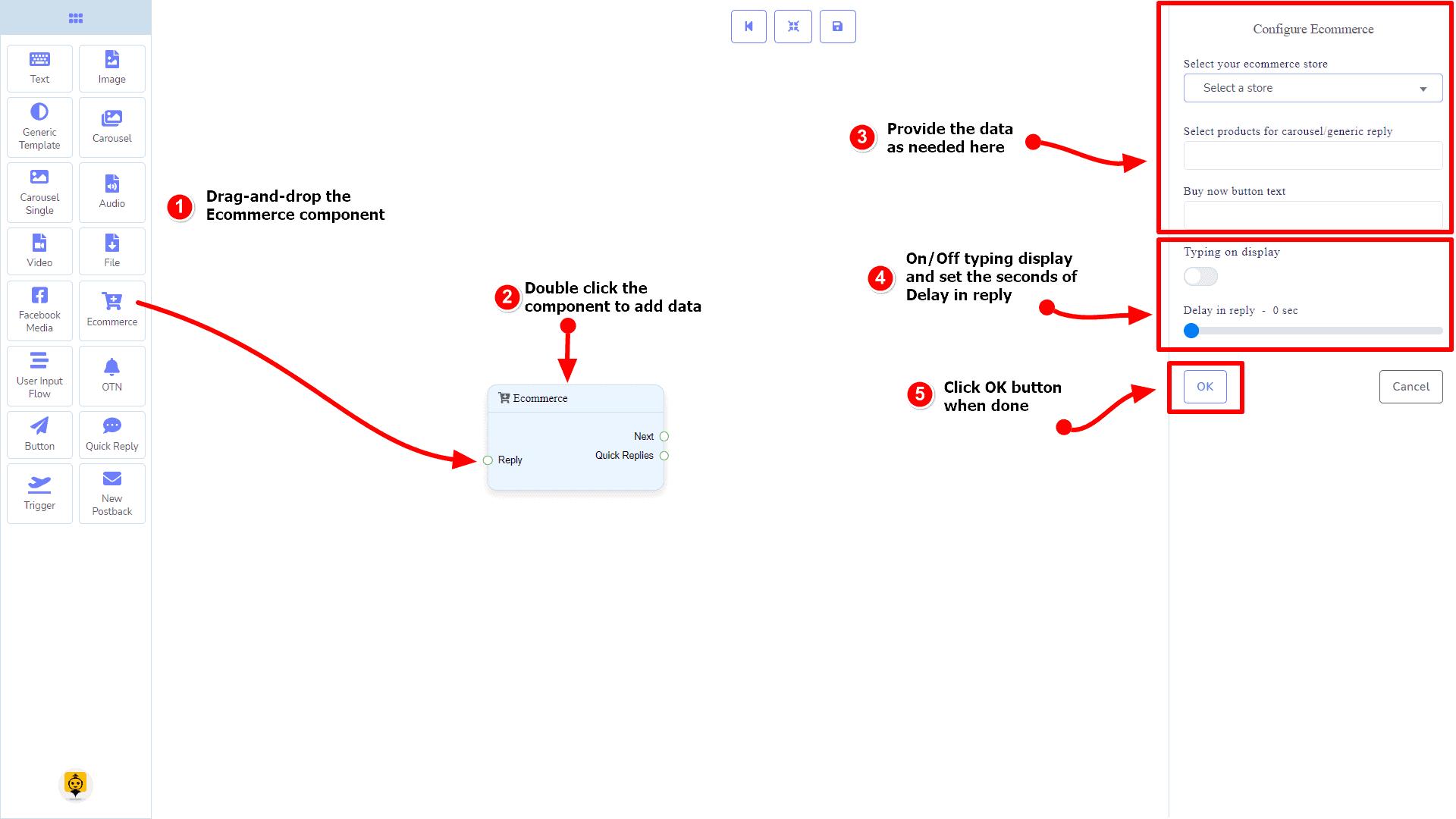 Messenger Bot - Visual Flow Builder 82