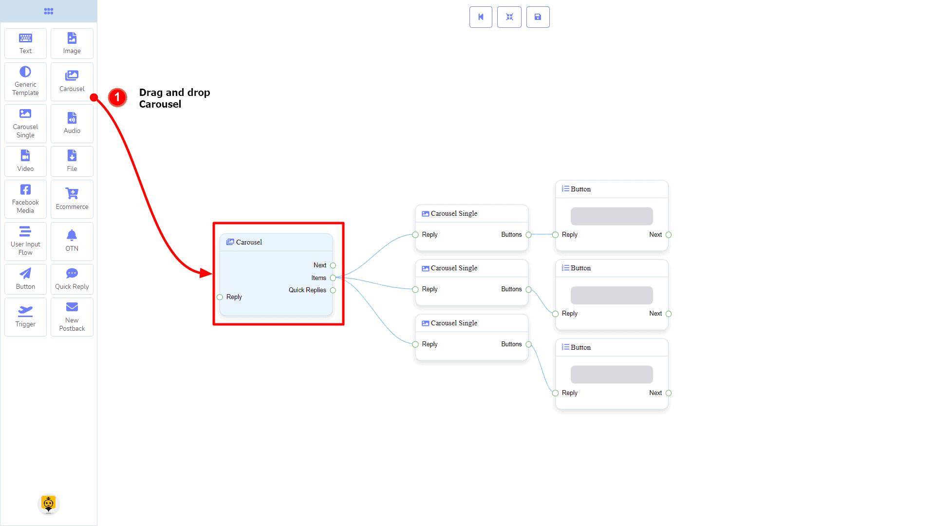 Messenger Bot - Visual Flow Builder 46