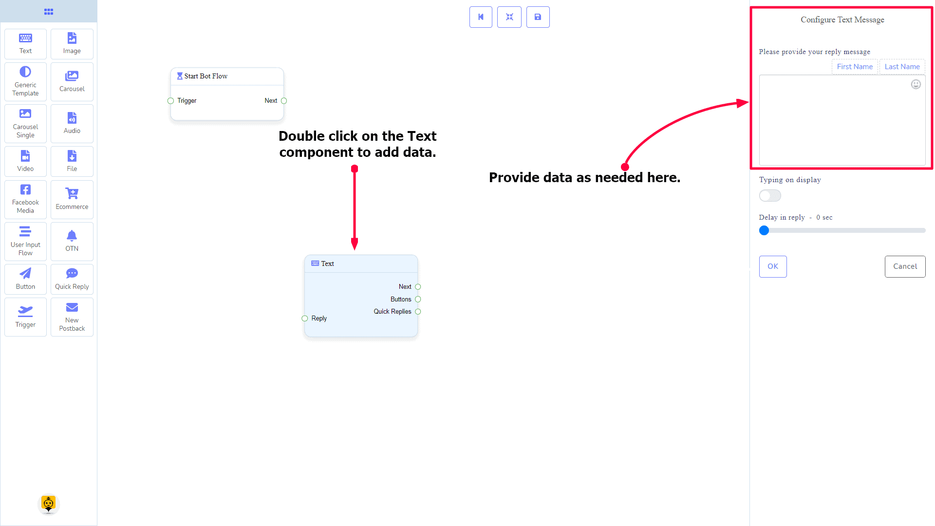 Messenger Bot - Visual Flow Builder 22