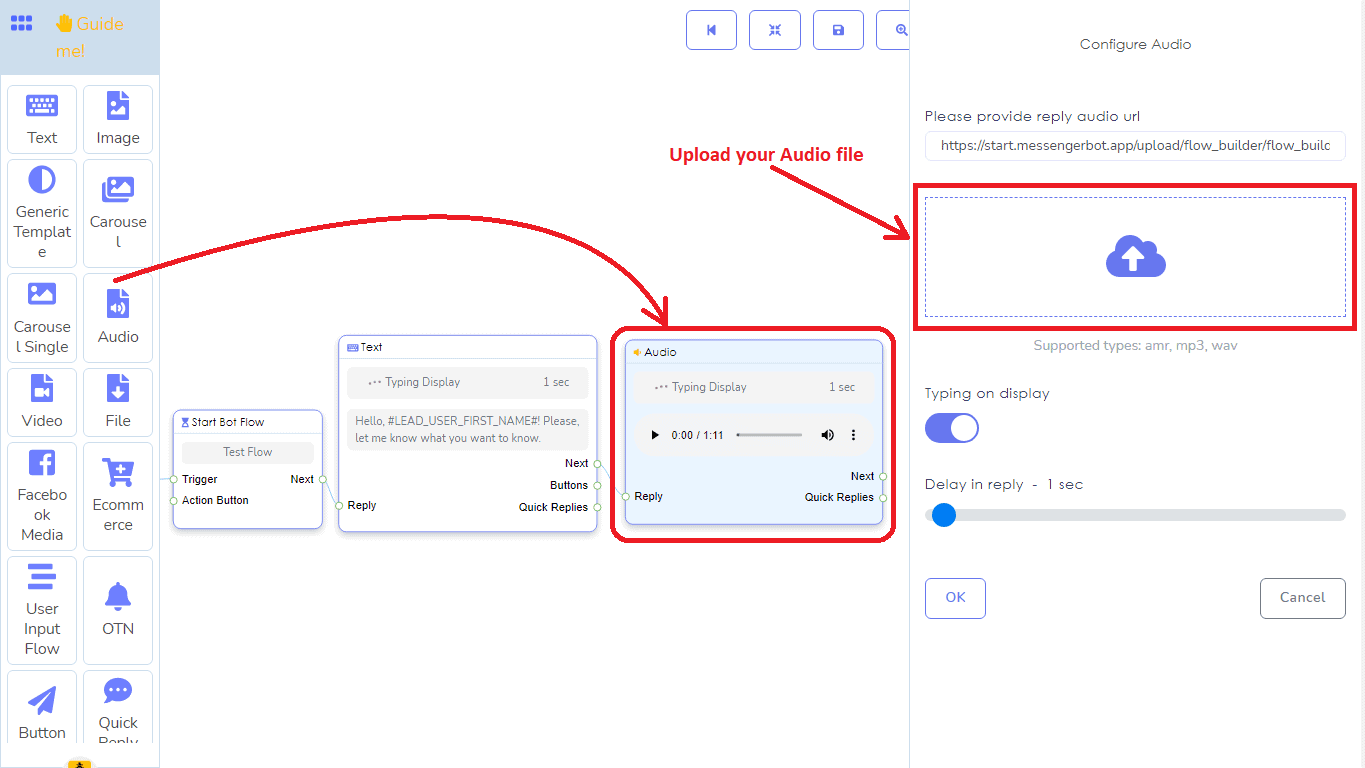 A Detailed And Comprehensive Manual Of Messenger Bot's Flow Builder 11