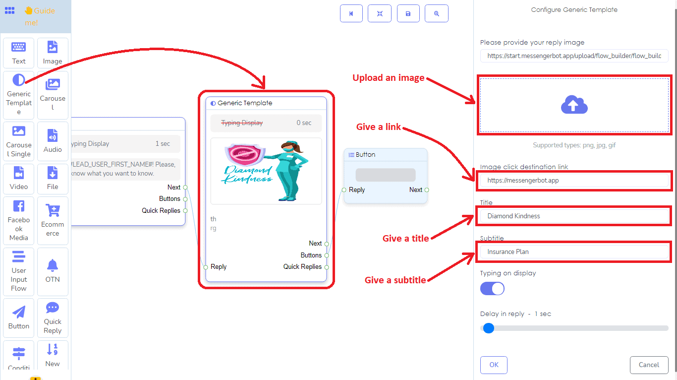 A Detailed And Comprehensive Manual Of Messenger Bot's Flow Builder 18