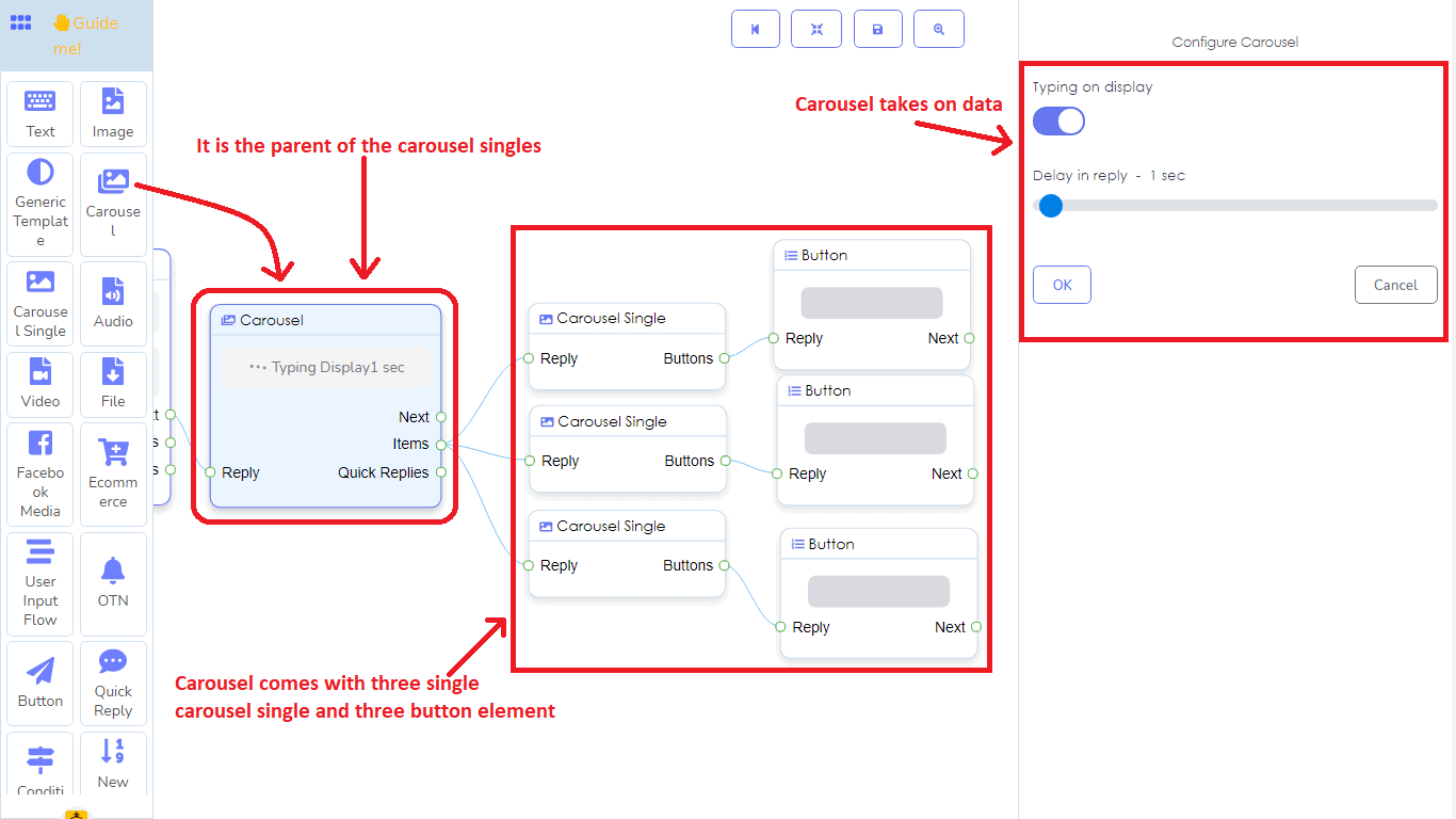 A Detailed And Comprehensive Manual Of Messenger Bot's Flow Builder 19