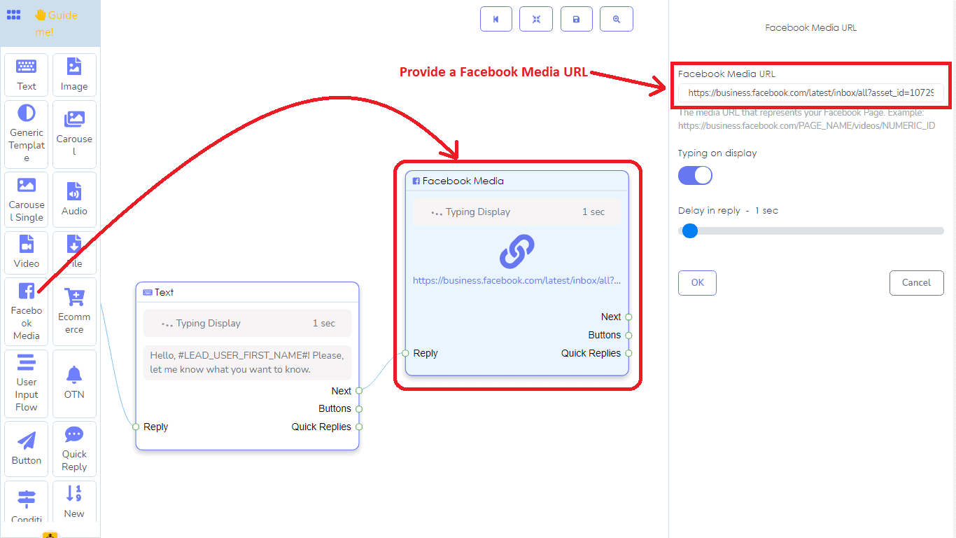 A Detailed And Comprehensive Manual Of Messenger Bot's Flow Builder 22