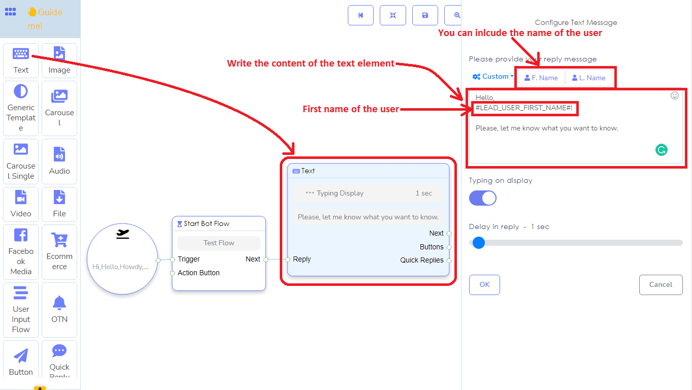 A Detailed And Comprehensive Manual Of Messenger Bot's Flow Builder 9