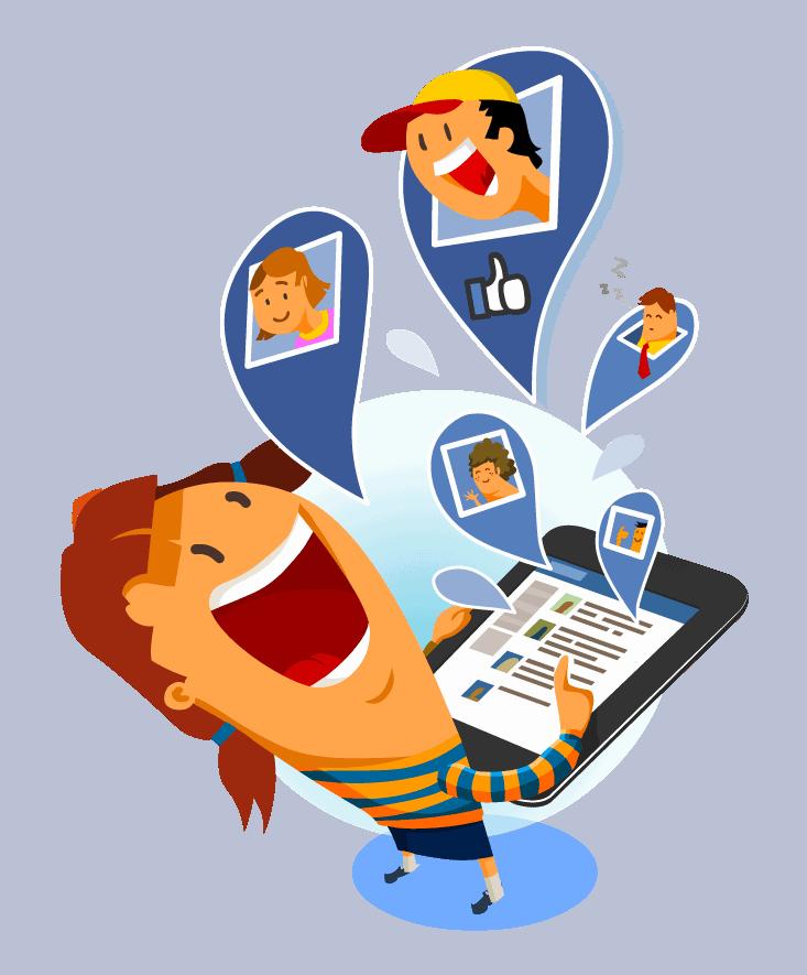 Facebook manager, Facebook post, posts manager, post manager