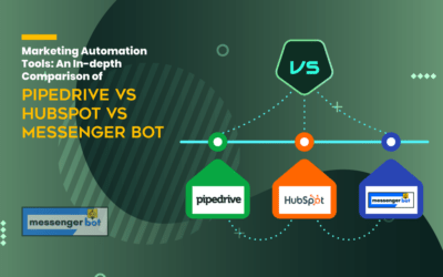 Marketing Automation Tools: An In-depth Comparison of Pipedrive vs HubSpot vs Messenger Bot